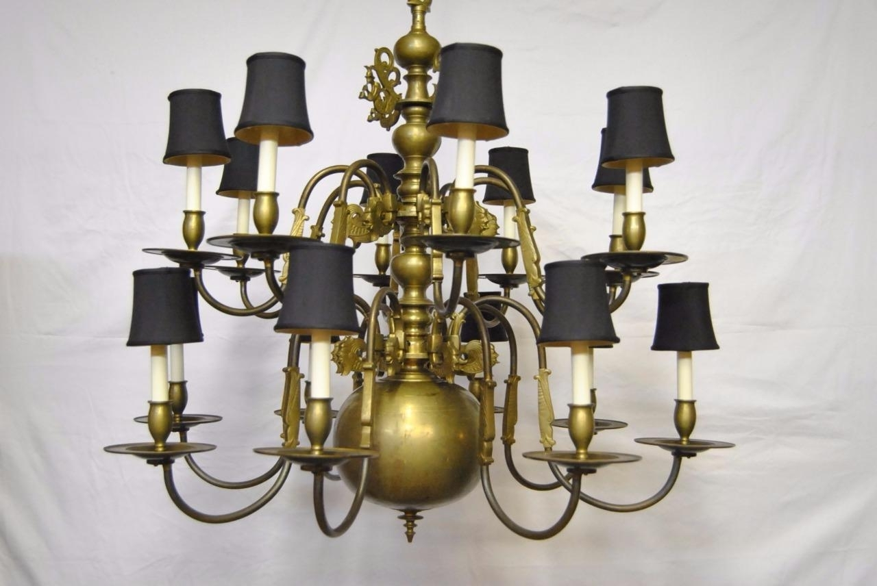 Featured Photo of Large Brass Chandelier