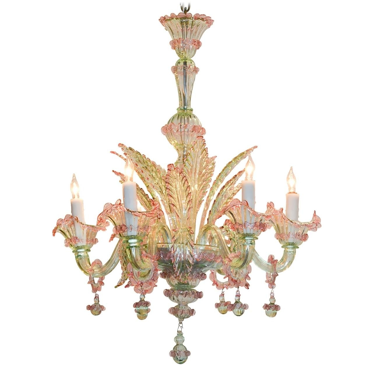 Well Liked Chandelier : Seashell Chandelier Cluster Pendant Light Led Regarding Red Chandeliers (View 14 of 15)