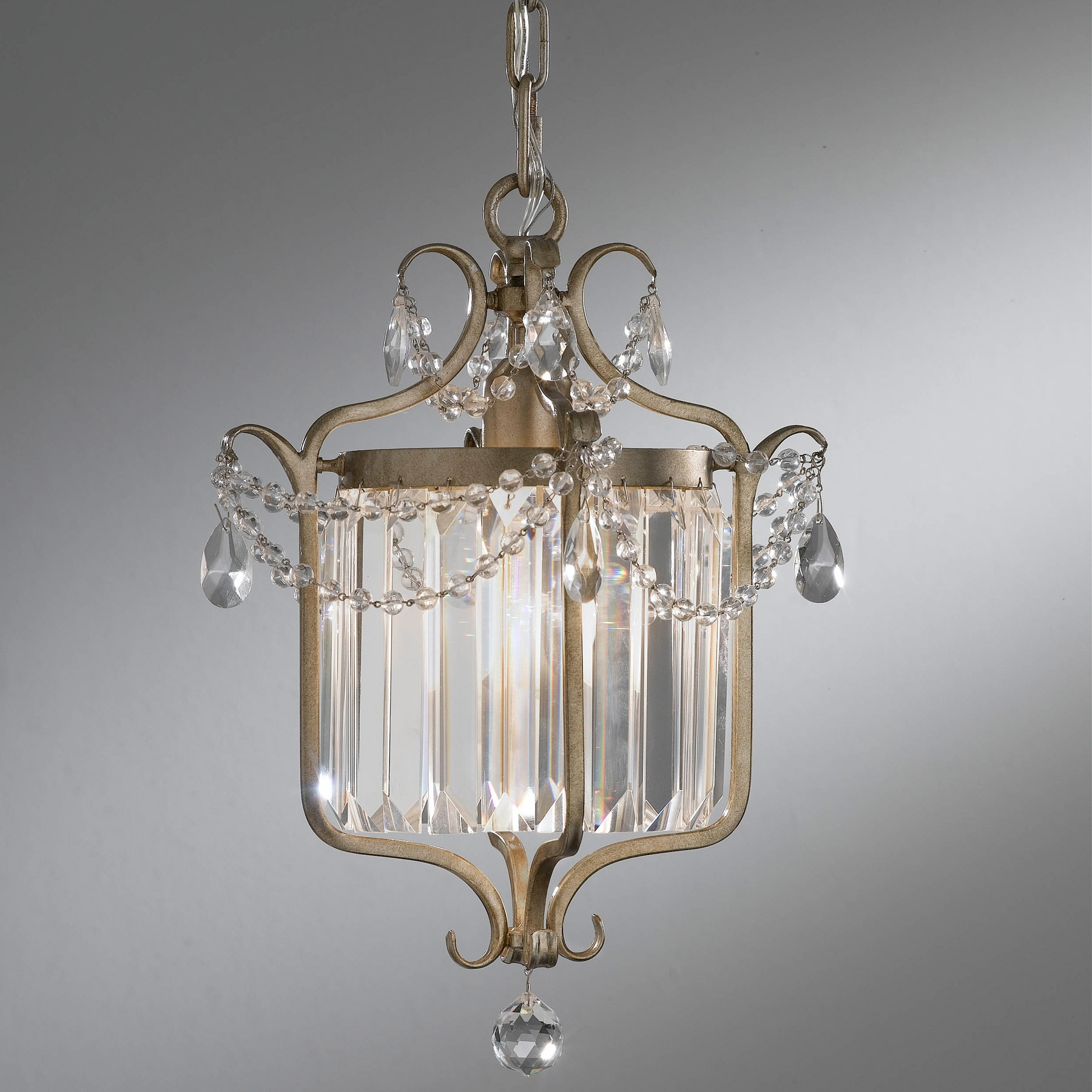 Well Liked F2473/1Gs Crystal Gianna Mini Chandelier With Regard To Gianna Mini Chandeliers (View 3 of 15)