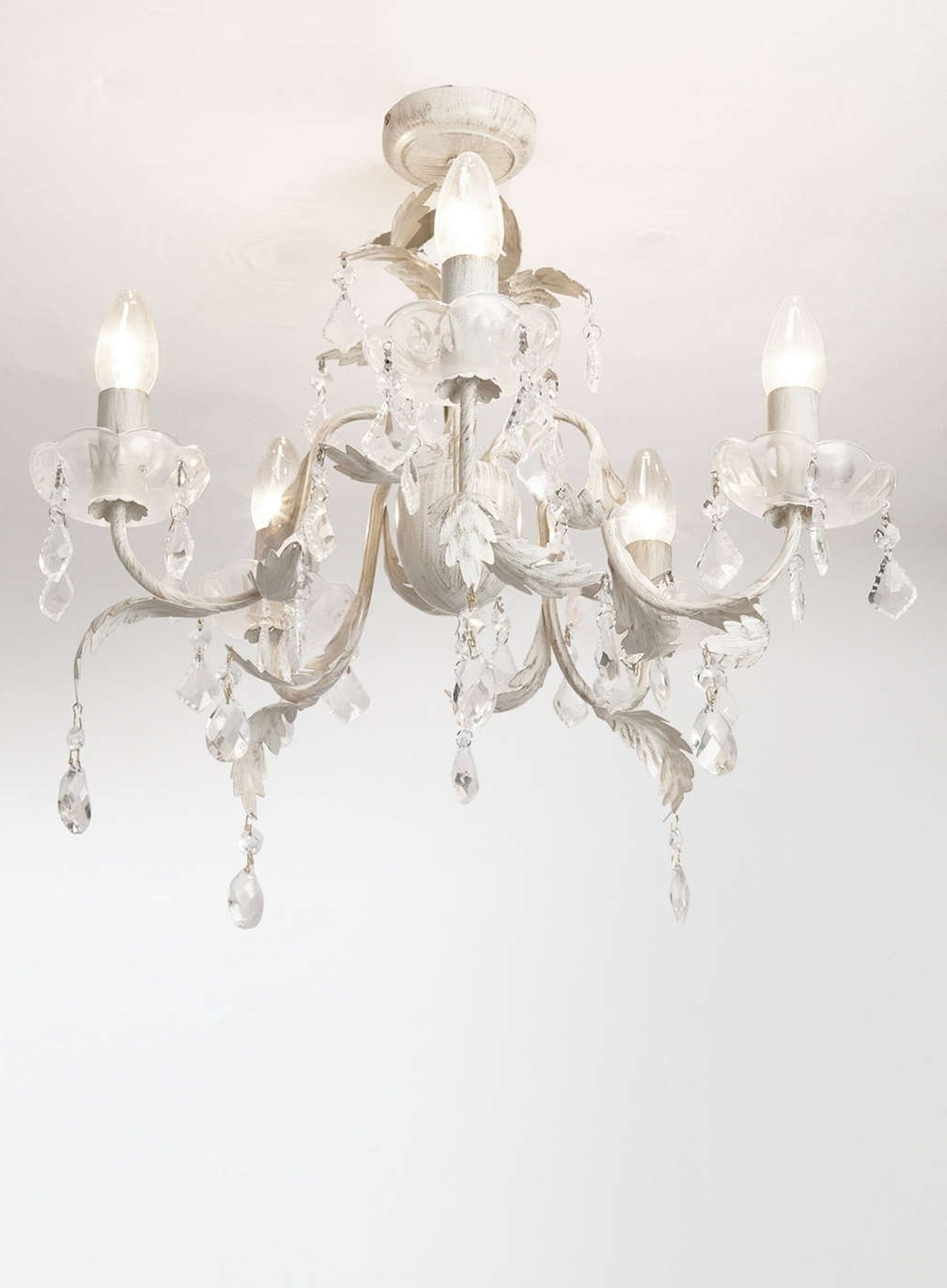 Well Liked Flush Fitting Chandelier Inside Juliette 5 Light Flush Fitting Chandelier – Flush Fitting – Ceiling (View 4 of 15)
