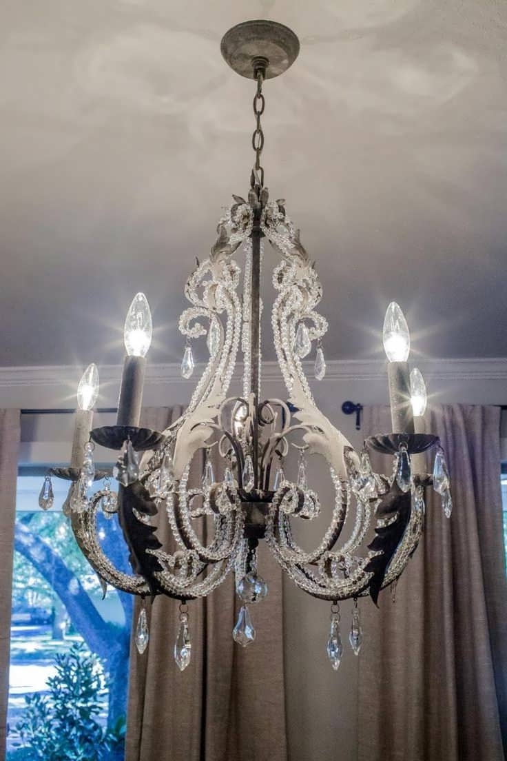 Well Liked Metal Ball Candle Chandeliers Pertaining To Chandeliers Design : Magnificent Beautiful Metal Ball Candle (View 15 of 15)