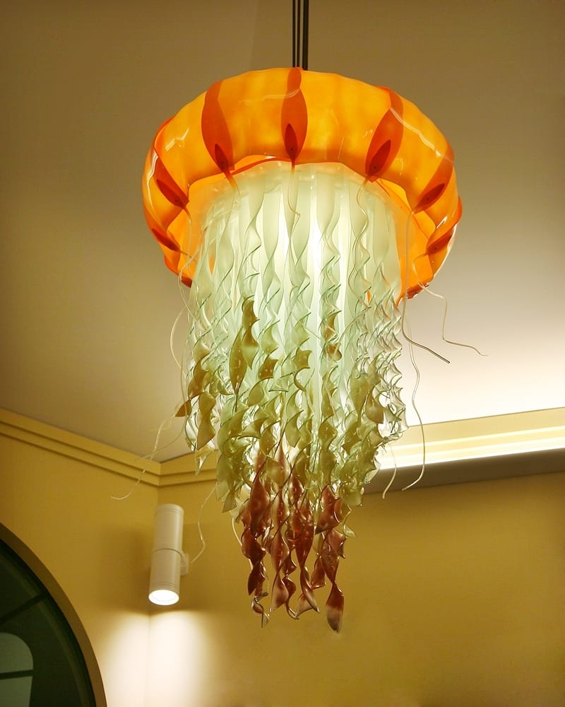 Well Liked The Bars Jellyfish Chandelier Icon Was Designed And Handmade Within Weird Chandeliers (View 15 of 15)