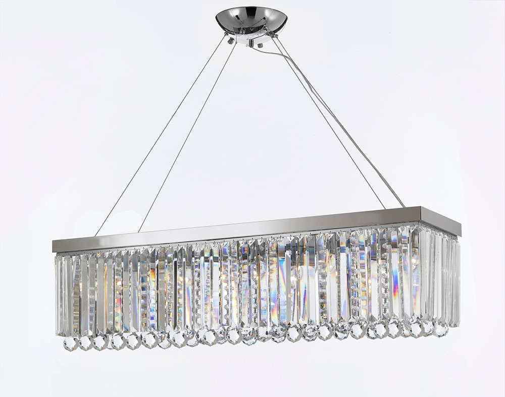 Well Liked Turquoise Crystal Chandelier Lights Inside G902 B40/1120/10 Gallery Modern / Contemporary Chandelier Light W (View 13 of 15)