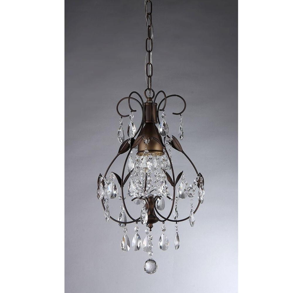 Well Liked Warehouse Of Tiffany Maleficent 1 Light Antique Bronze Chandelier For Small Bronze Chandelier (View 15 of 15)