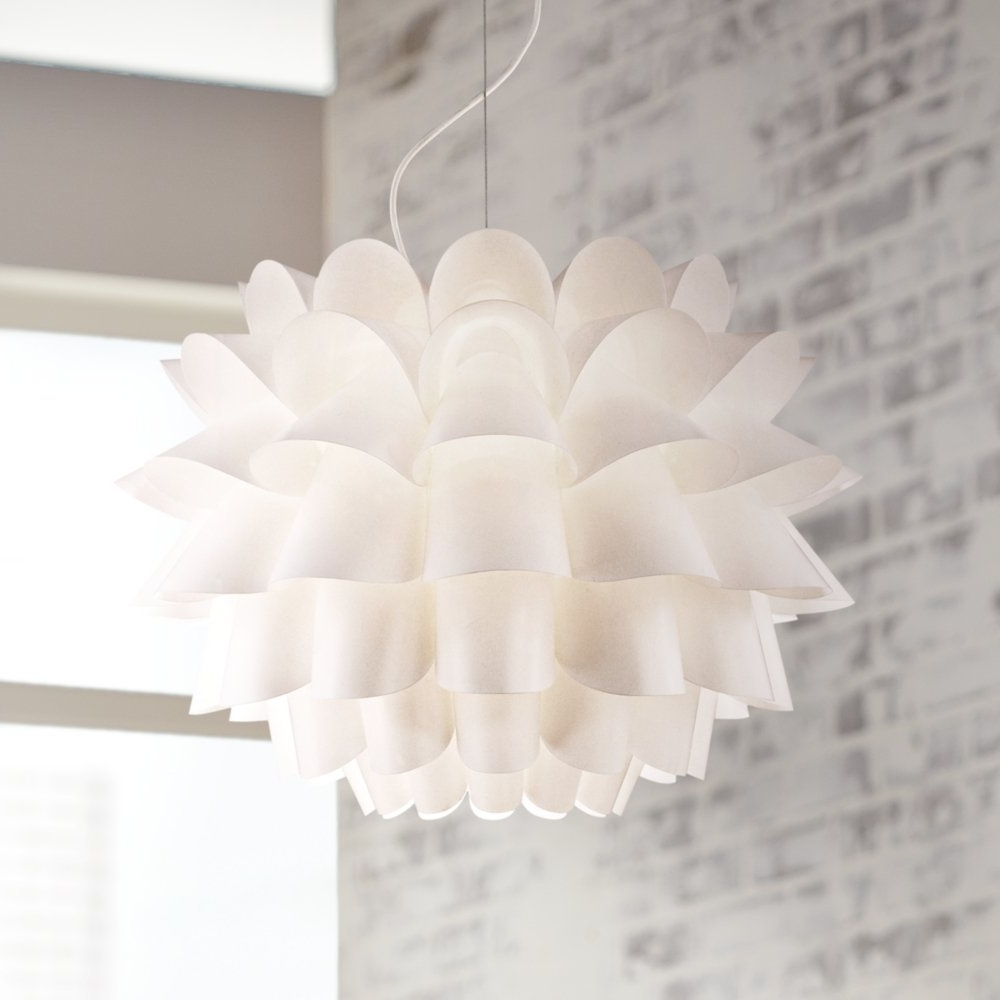 White Contemporary Chandelier Inside Well Known White Modern Chandelier Marvellousite Diamond Table Lamp Light (View 4 of 15)
