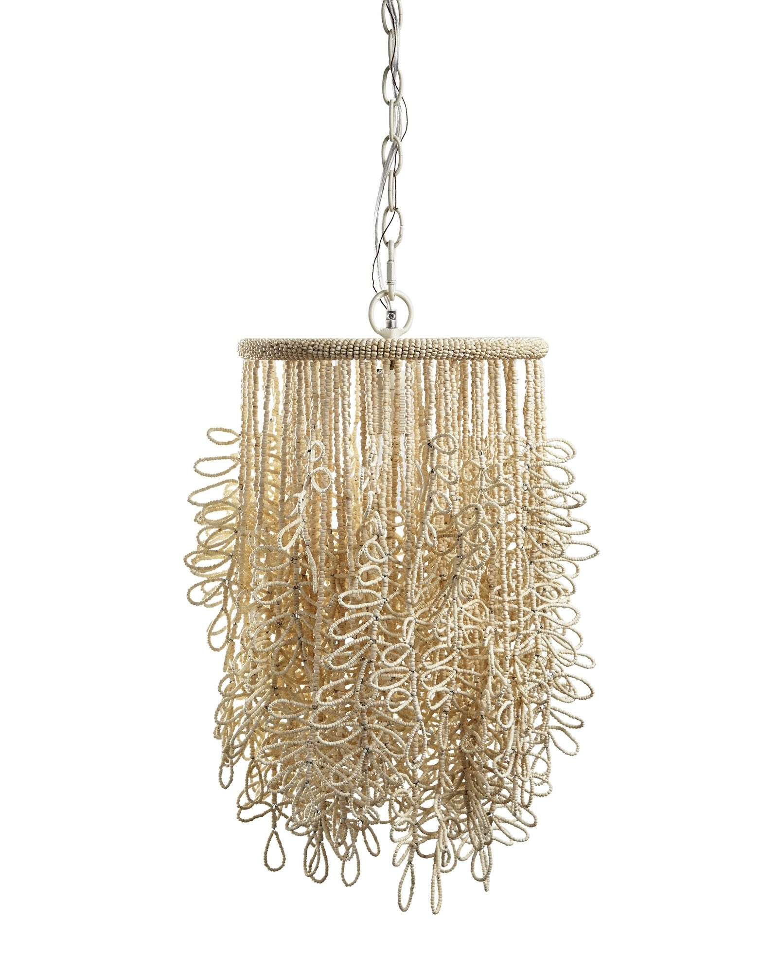 Widely Used Beaded Fringe Y Pendant Light – Like The Organic Feel It Has Intended For Lily Chandeliers (View 8 of 15)