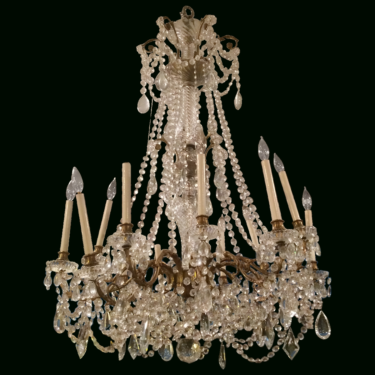 Widely Used Chandelier : Black Chandelier Vintage Brass Chandelier Bedroom In Vintage French Chandeliers (View 9 of 15)