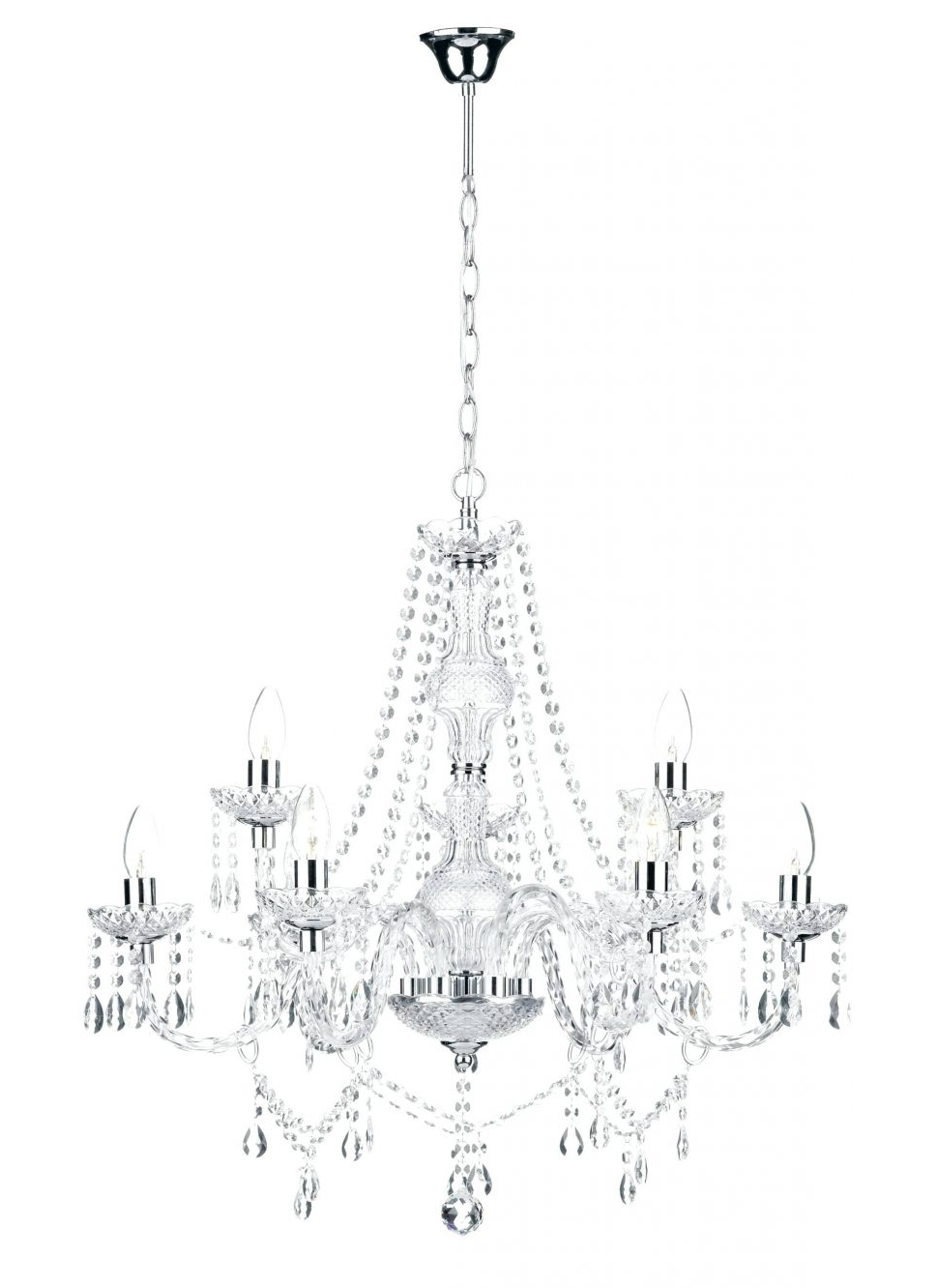 Widely Used Chandeliers : Schonbek Crystal Chandelier Replacement Parts Lead Throughout Lead Crystal Chandelier (View 15 of 15)