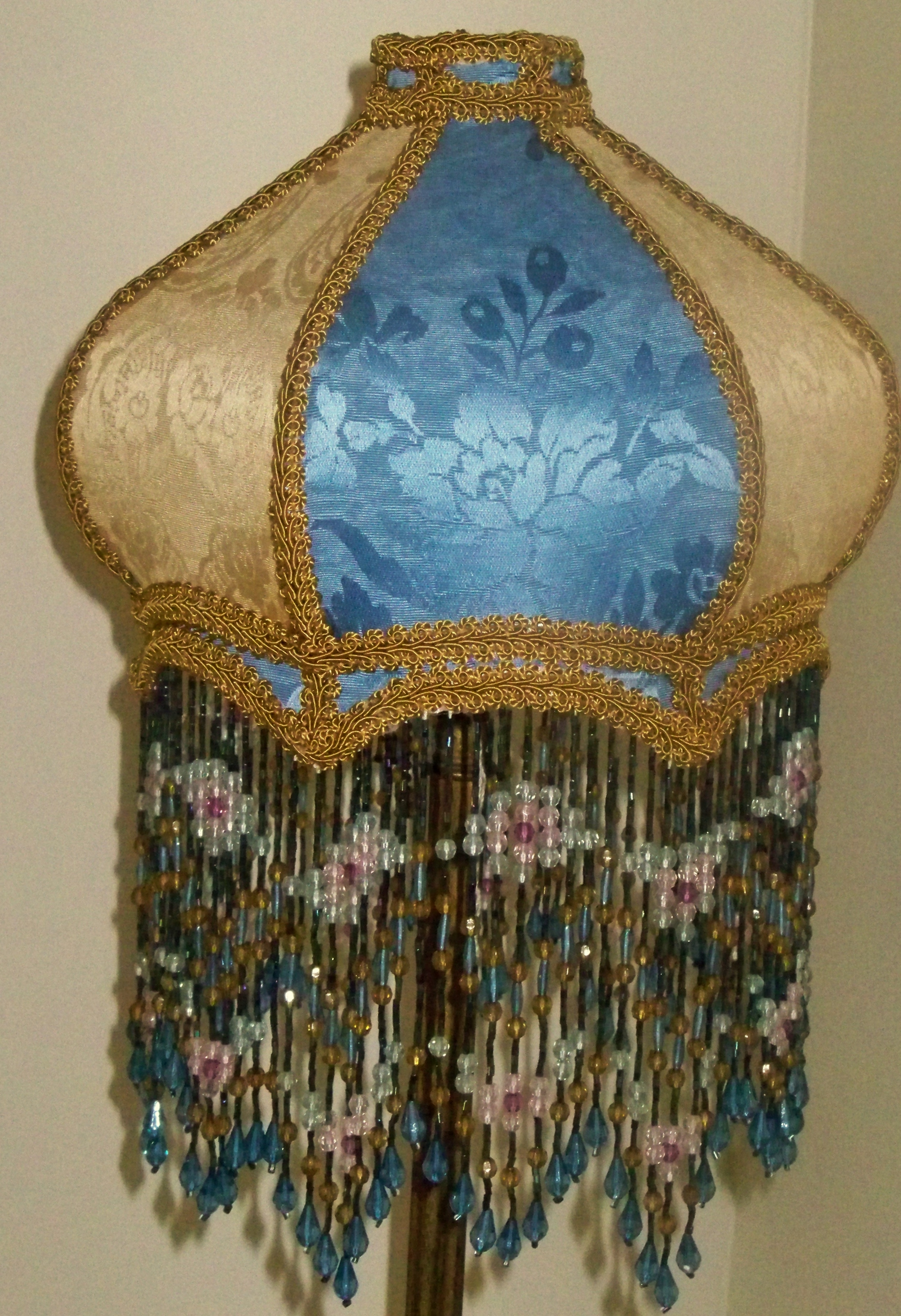 Widely Used Enchanting Victorian Lampshades – Small Custom Vintage Victorian Inside Turquoise Chandelier Lamp Shades (View 9 of 15)