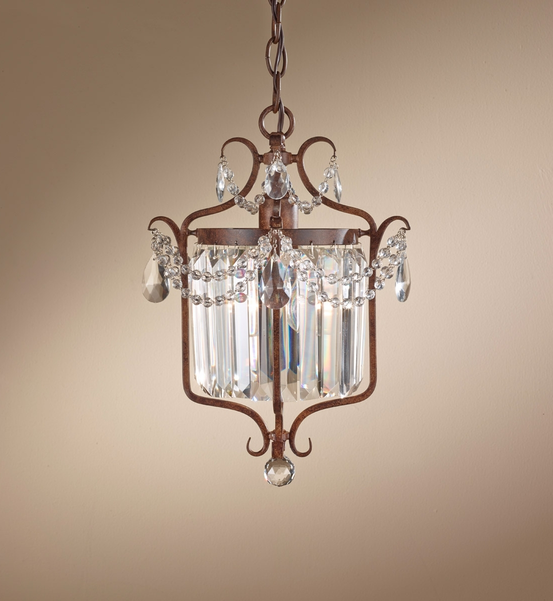 Widely Used Gianna Scuro 1 Light Mini Chandelier (View 12 of 15)