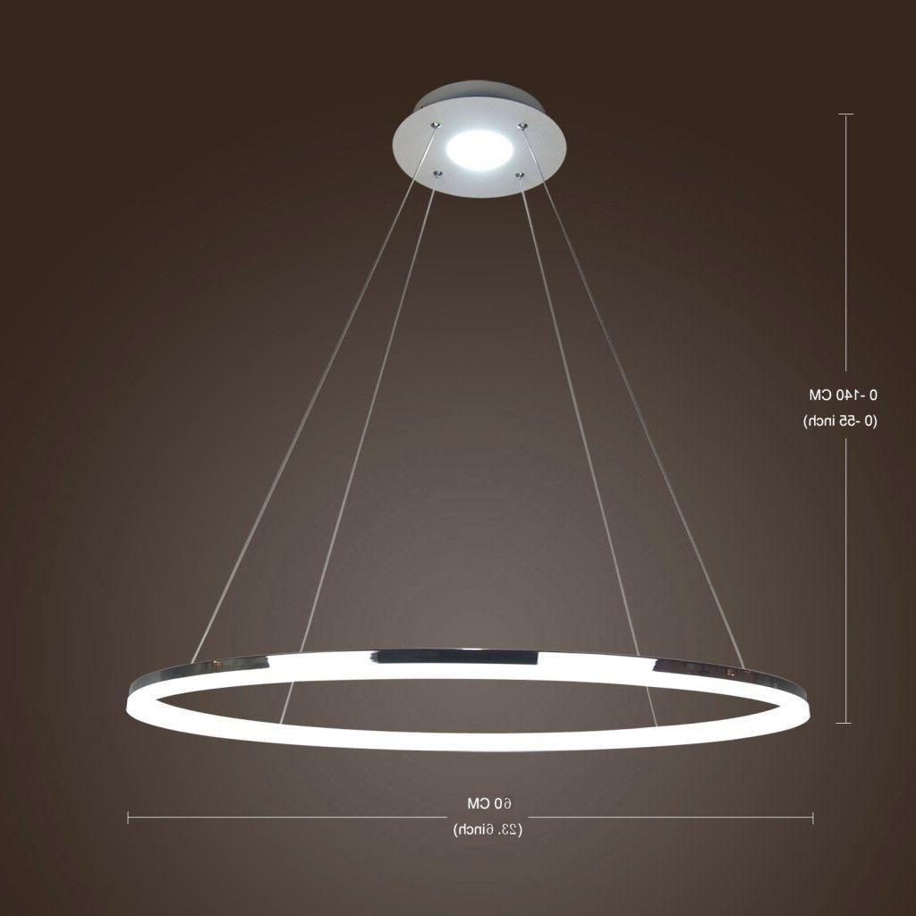 Widely Used In Stock) Ceiling Lights Modern Led Acrylic Pendant Light Living Led Regarding Modern Led Chandelier (View 15 of 15)