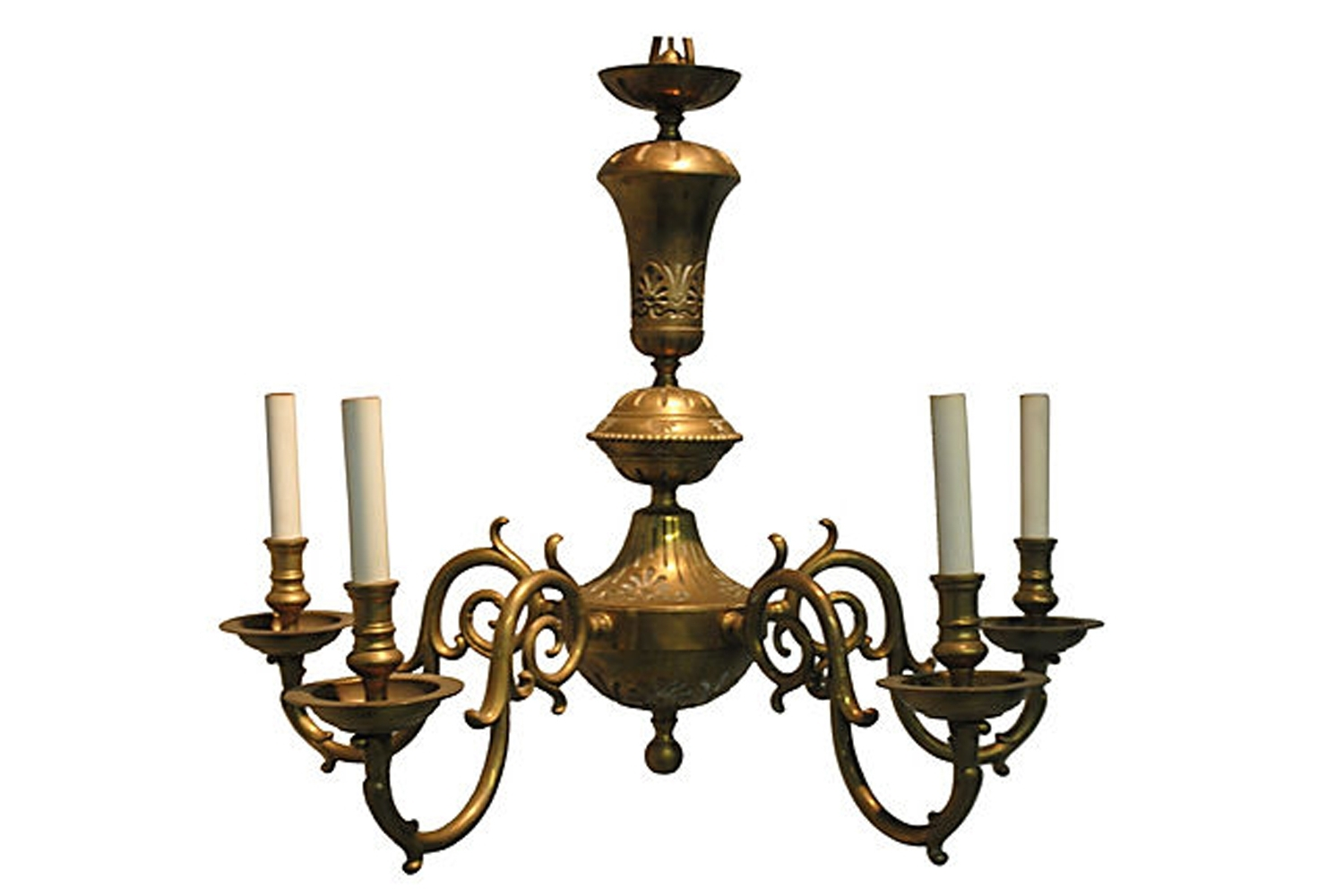 Widely Used Old Brass Chandelier With Regard To Vintage Brass Chandelier (View 5 of 15)