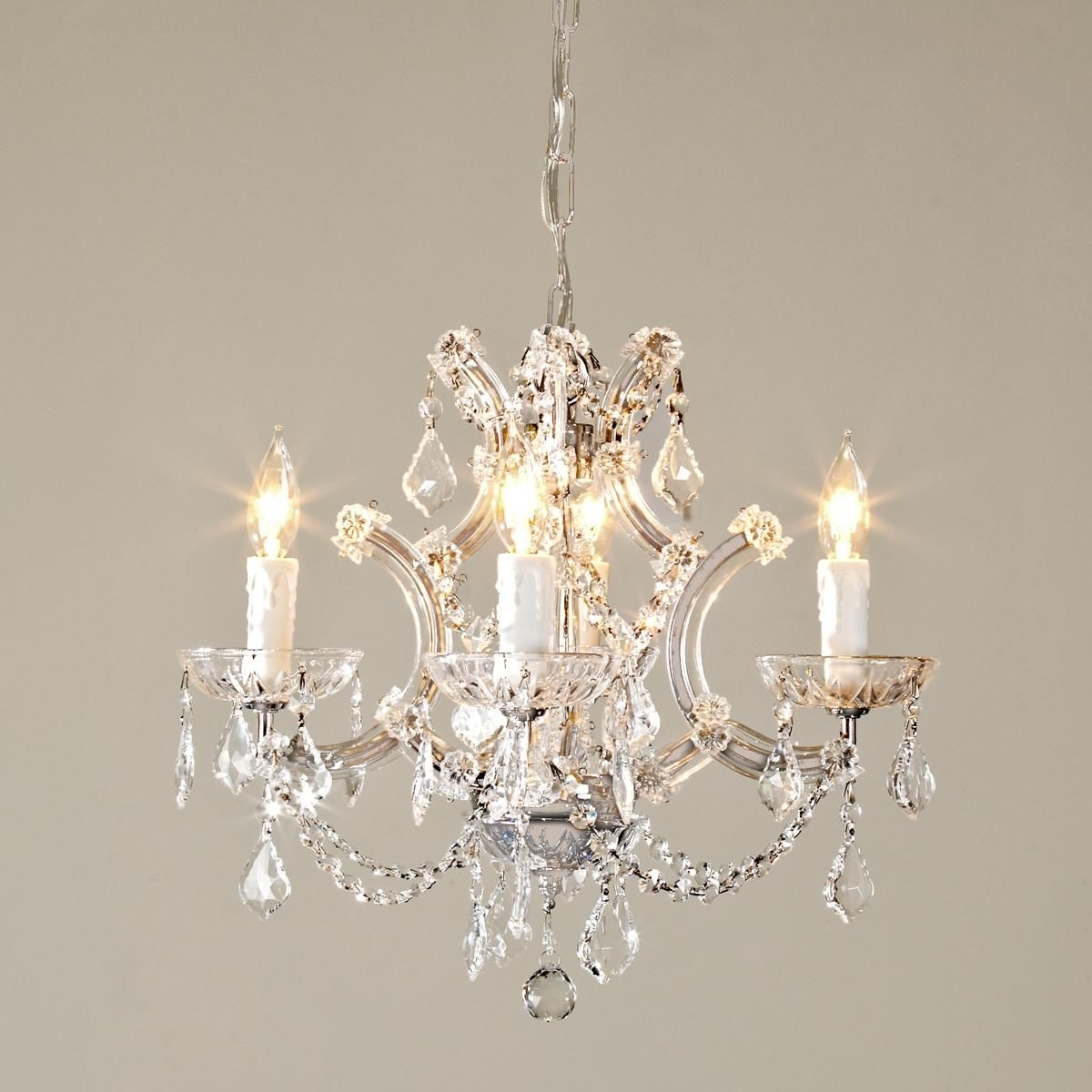 Widely Used Short Chandelier Lights With Round Crystal Chandelier (View 14 of 15)