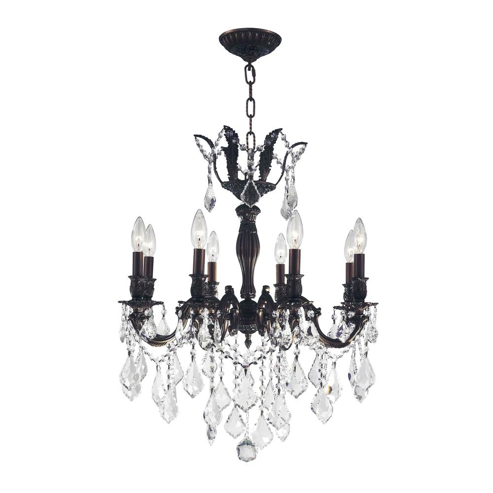 Worldwide Lighting Versailles 8 Light Flemish Brass Chandelier With Intended For Most Popular Flemish Brass Chandeliers (View 5 of 15)