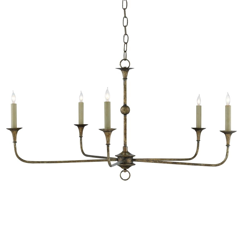 Wrought Iron Chandelier Pertaining To Favorite Languedoc French Country Bronze Wrought Iron Chandelier – 36D (View 10 of 15)