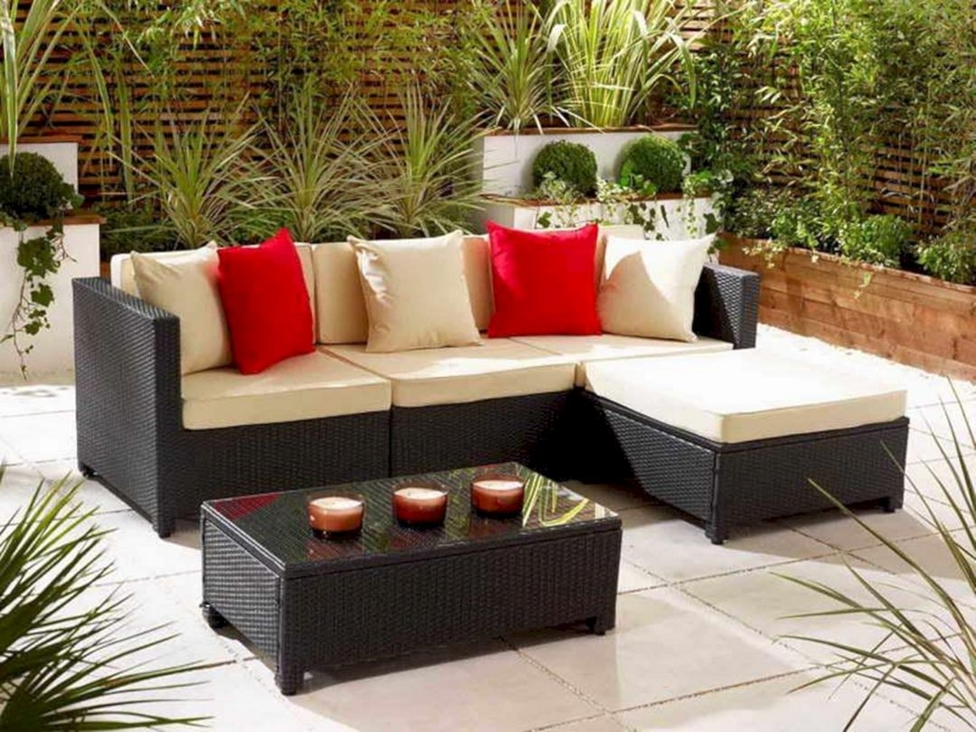 2017 Patio Table: Small Conversation Patio Furniture Fresh Chair Small Pertaining To Small Patio Conversation Sets (View 11 of 15)