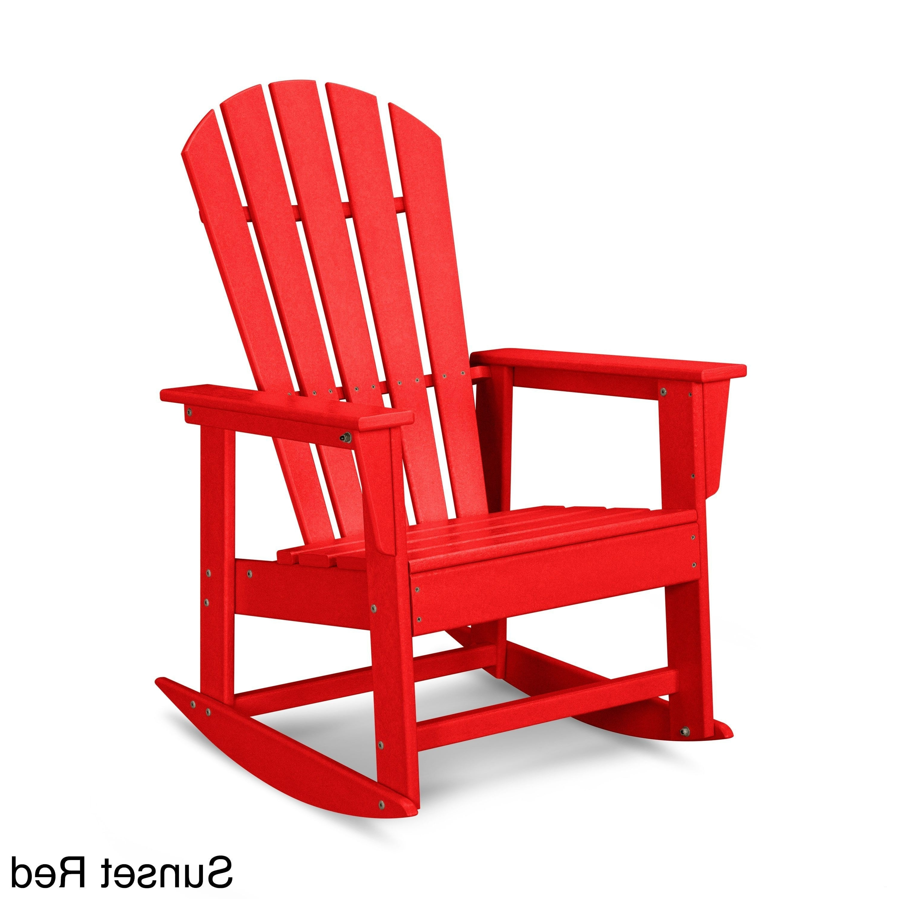 2017 Red Patio Rocking Chairs Throughout Red Outdoor Rocking Chair – Attractive Red Patio Furniture Stunning (View 1 of 15)