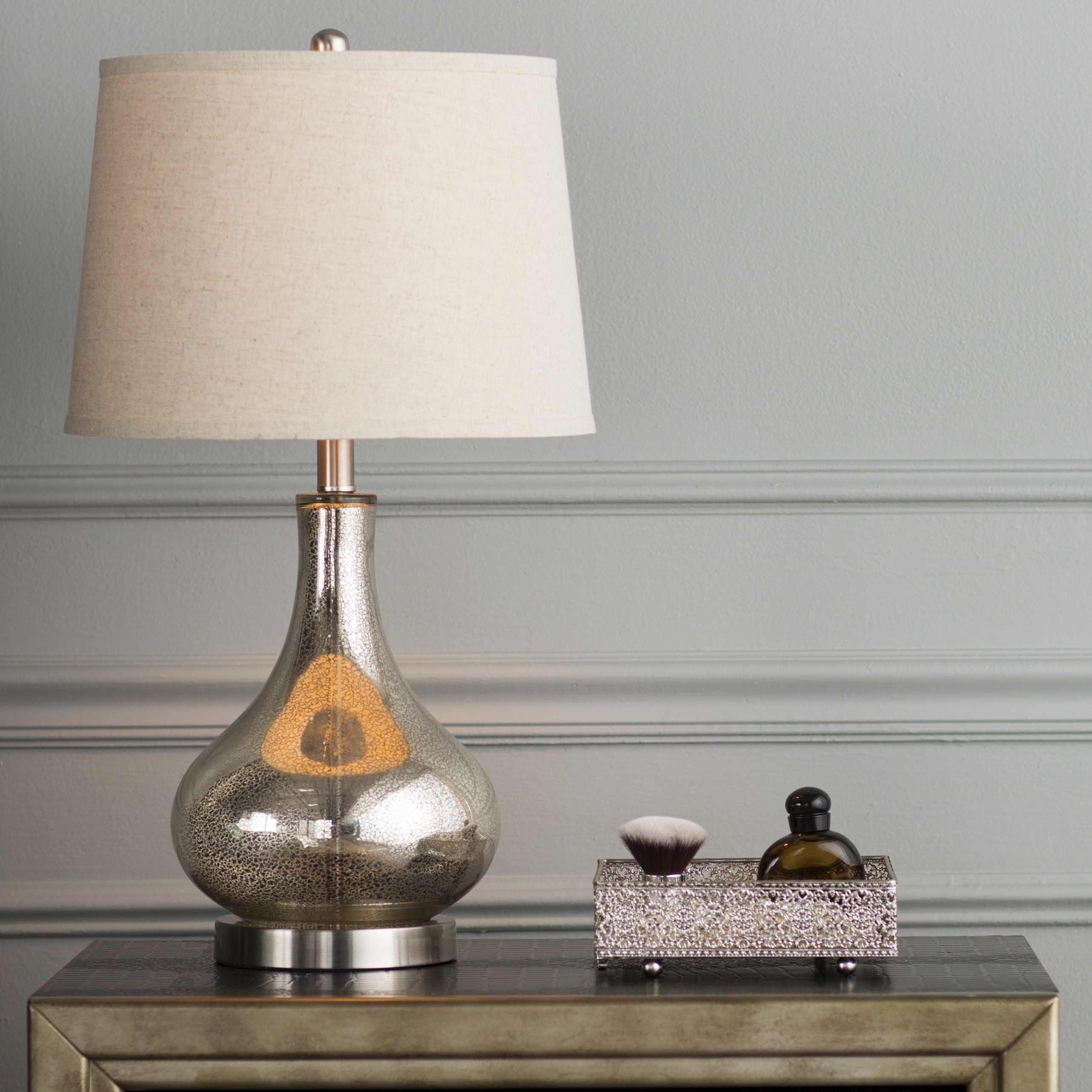 2017 Top 69 Fine Touch Table Lamps Silver Blue Lamp Living Room Wayfair Inside Silver Table Lamps For Living Room (View 15 of 15)