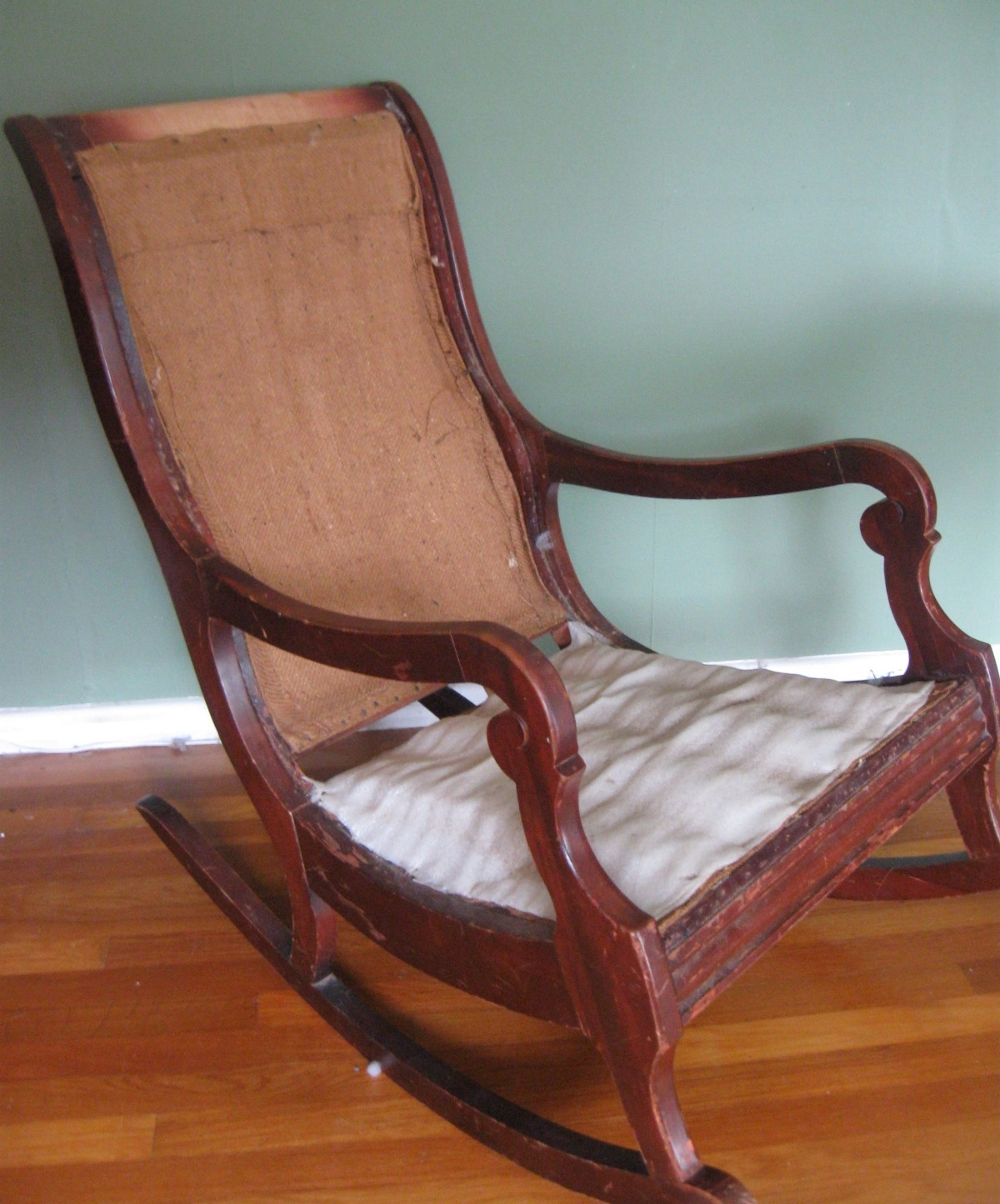 2017 Upholster & Paint A Rocking Chair, Part 1 – Prodigal Pieces For Rocking Chairs With Springs (View 14 of 15)