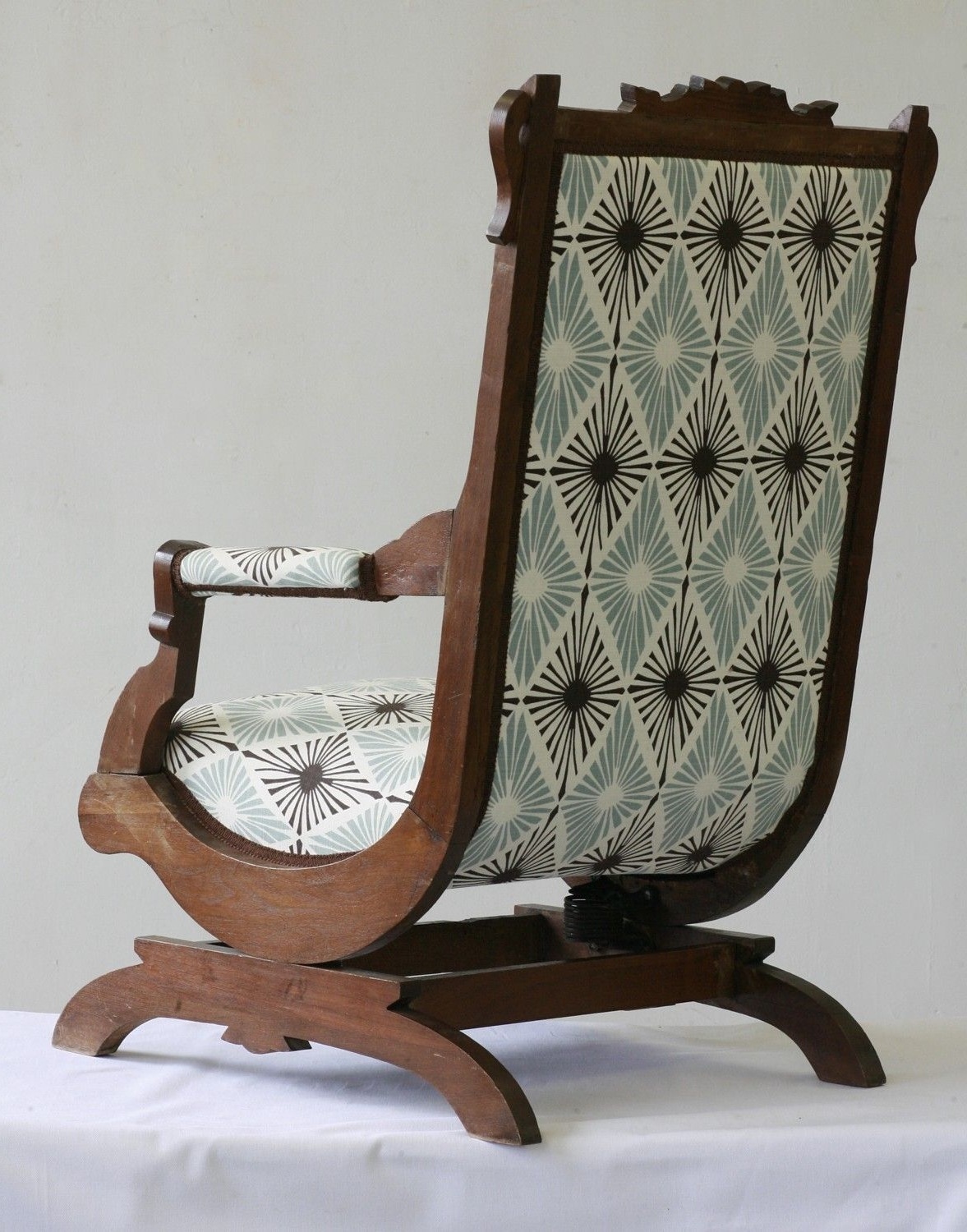 2017 Victorian Rocking Chairs Inside Antique Victorian Rocking Chair (View 1 of 15)