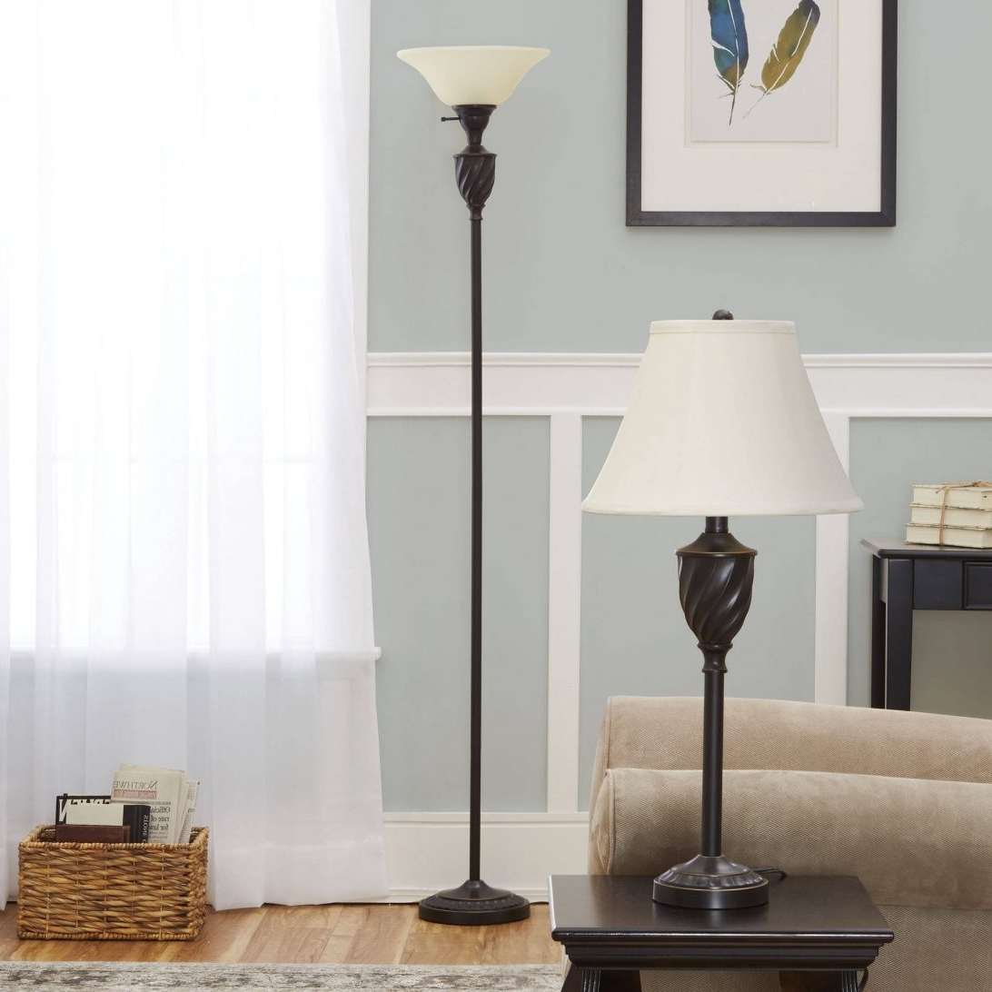 2017 Walmart Living Room Table Lamps Regarding Surprising Living Room Table Lamps 18 Silver Lamp Set Walmart For (View 7 of 15)