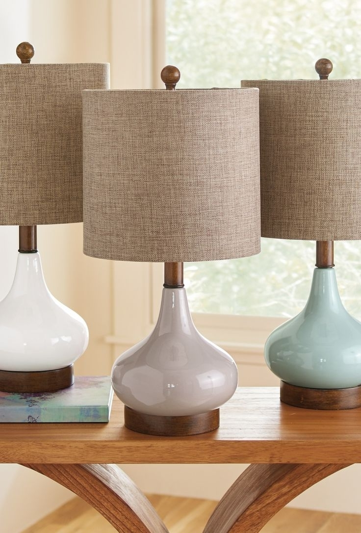 2018 Elegant Table Lamps Living Room — Table Design : Choosing Elegant With Regard To Teal Living Room Table Lamps (View 1 of 15)