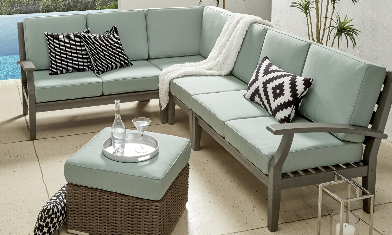 2018 How To Choose Patio Furniture For Small Spaces – Overstock In Small Patio Conversation Sets (View 15 of 15)