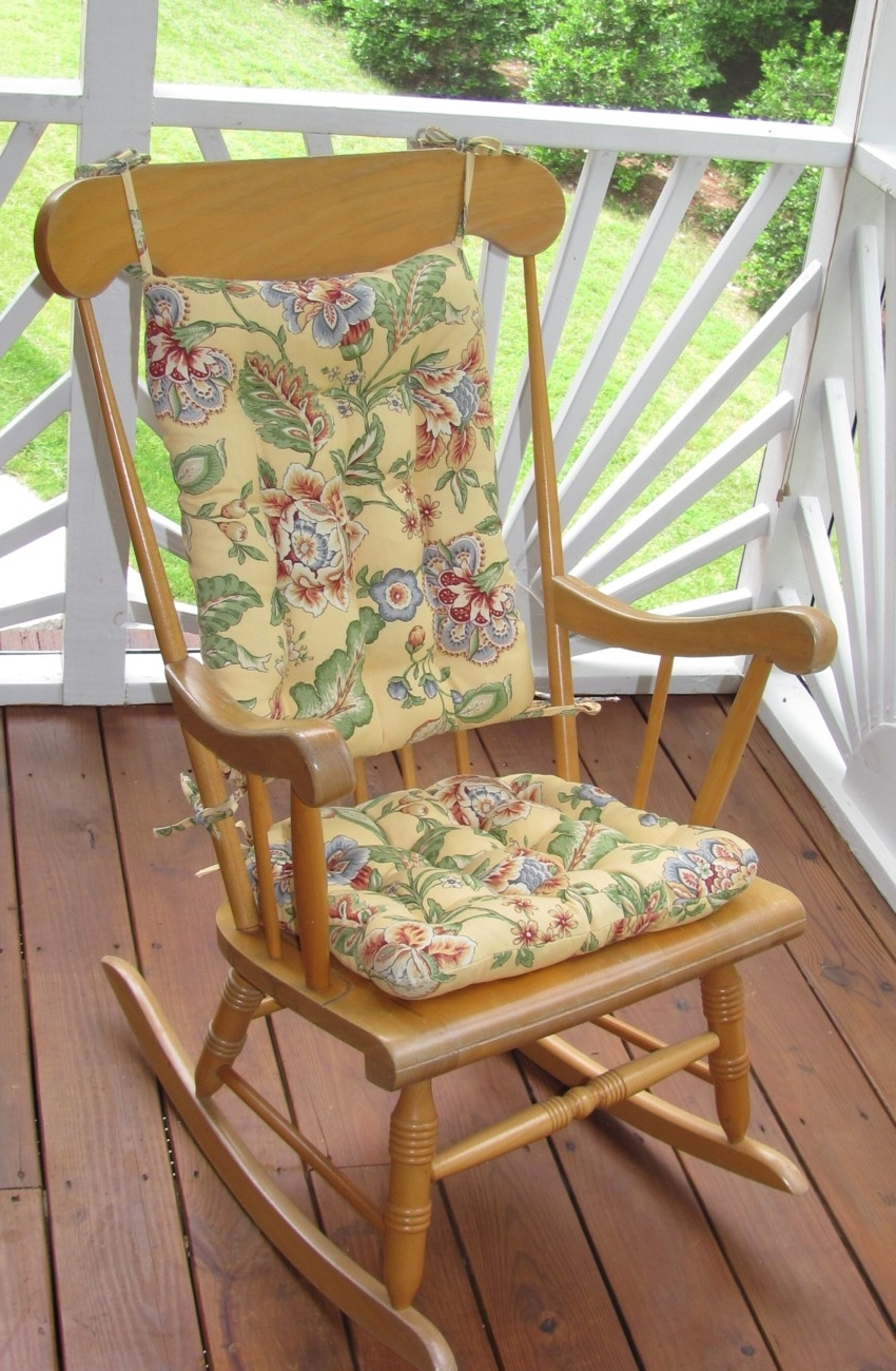2018 Seating That Is Sure To Please For Outdoor Rocking Chairs With Outdoor Rocking Chairs With Cushions (View 1 of 15)