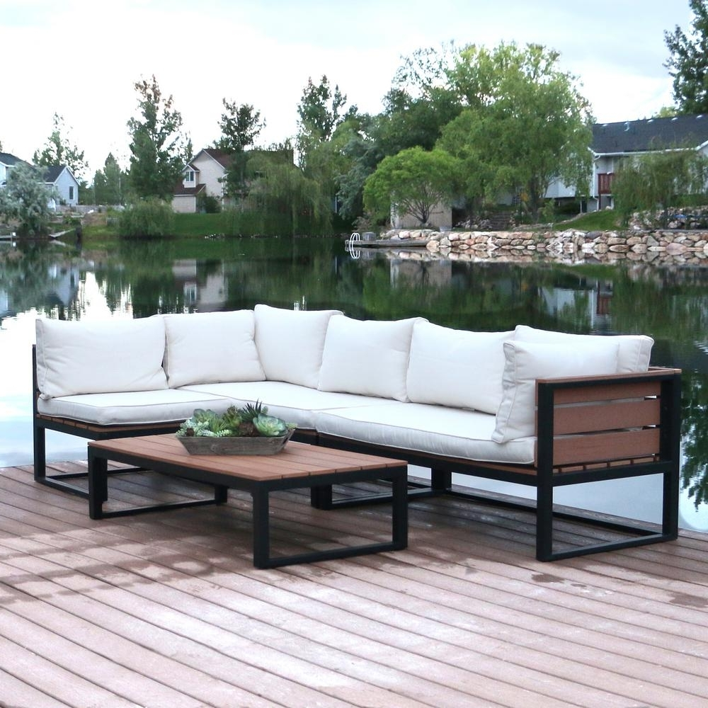 2018 White – Patio Conversation Sets – Outdoor Lounge Furniture – The For Patio Conversation Sets Under $ (View 2 of 15)