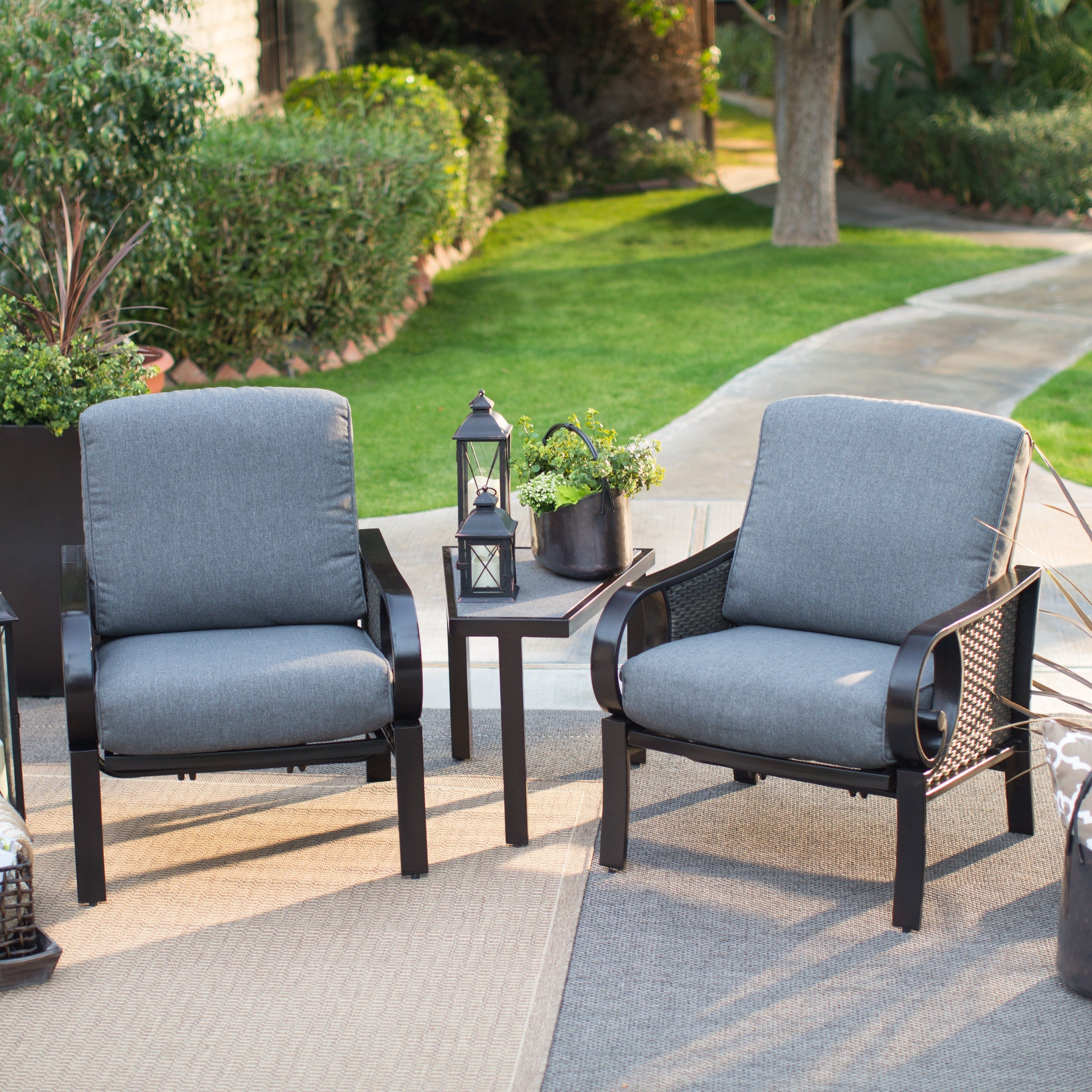 3 Piece Patio Conversation Sets Pertaining To Well Known Have To Have It (View 8 of 15)