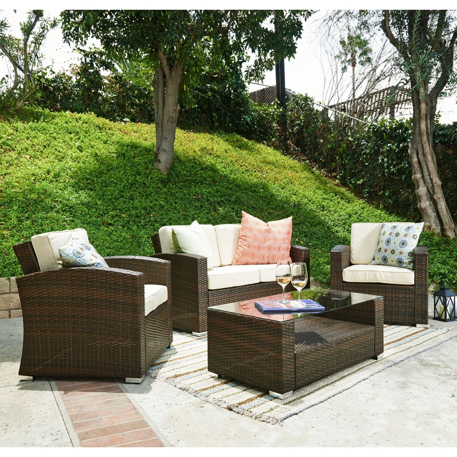 30 Amazing Patio Furniture Conversation Set Ideas Within Most Current Outdoor Patio Furniture Conversation Sets (View 14 of 15)