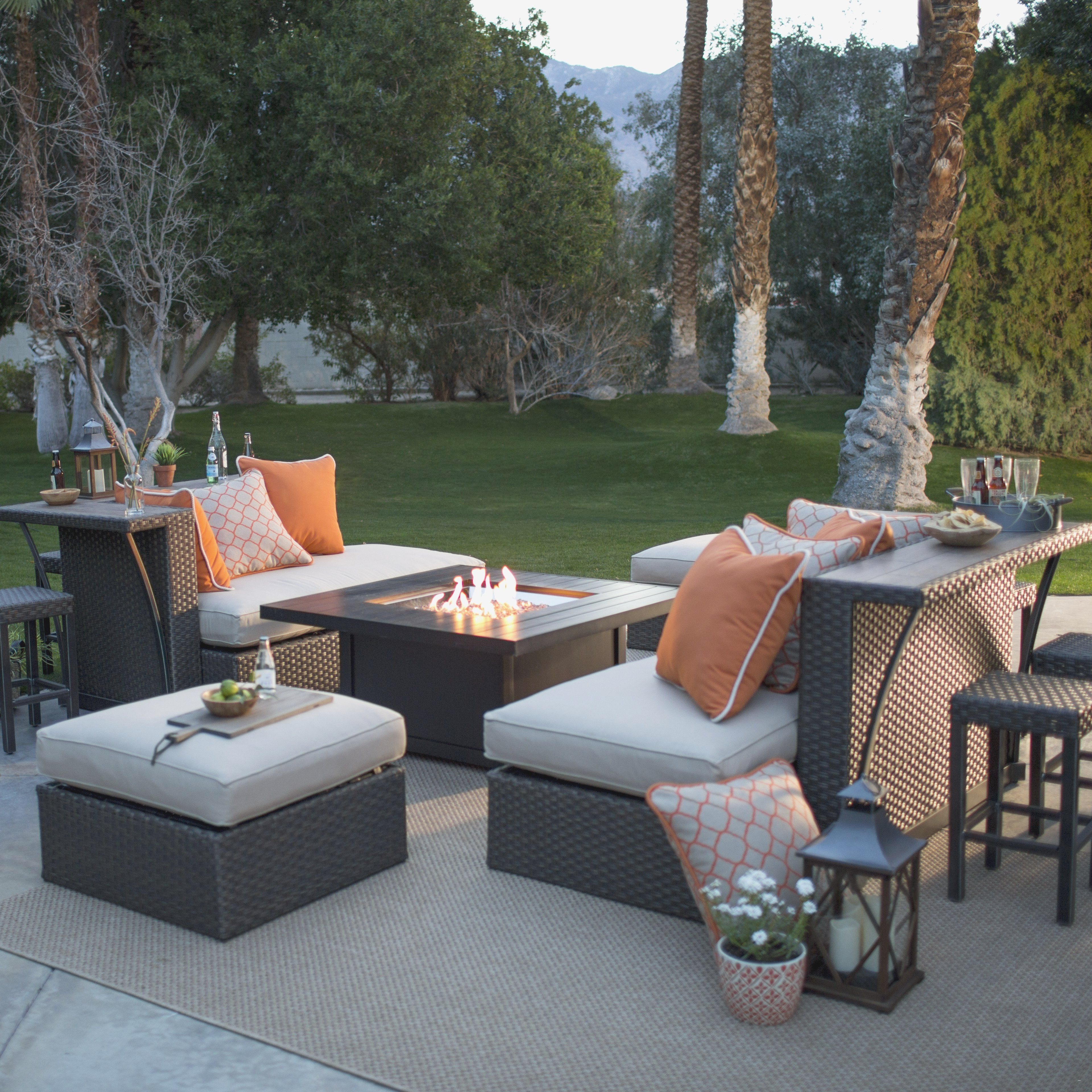30 Fresh Patio Furniture With Fire Pit Table Ideas