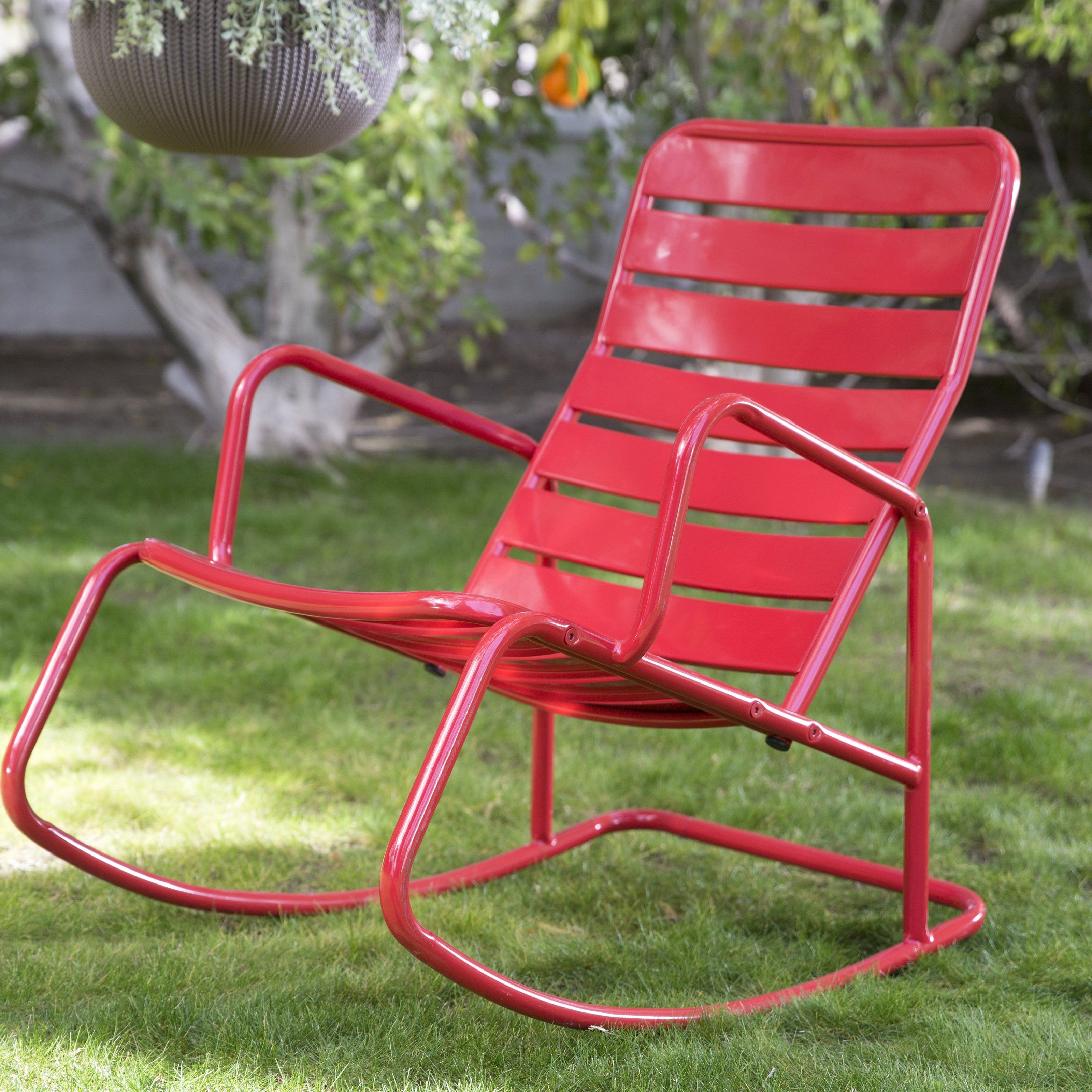 30 The Best Modern Outdoor Rocking Chair Ideas (View 2 of 15)