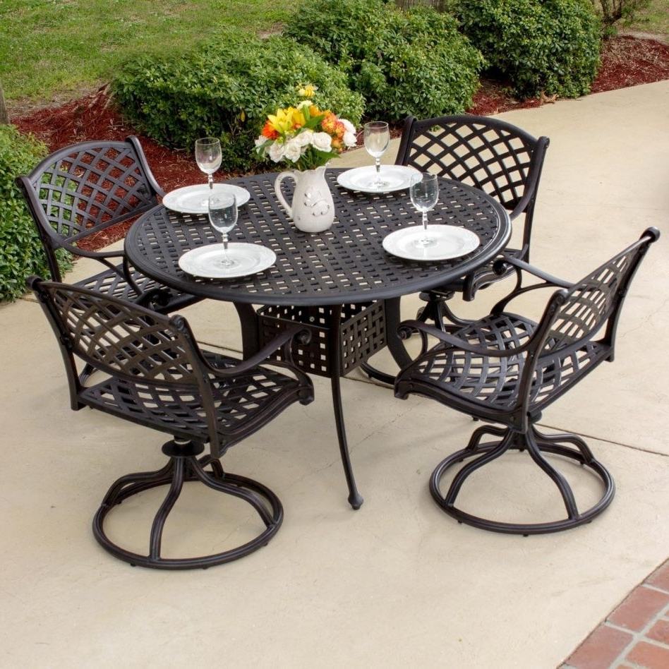 30 The Best Wrought Iron Patio Furniture 1950's Concept Throughout 2018 Wrought Iron Patio Rocking Chairs (View 1 of 15)