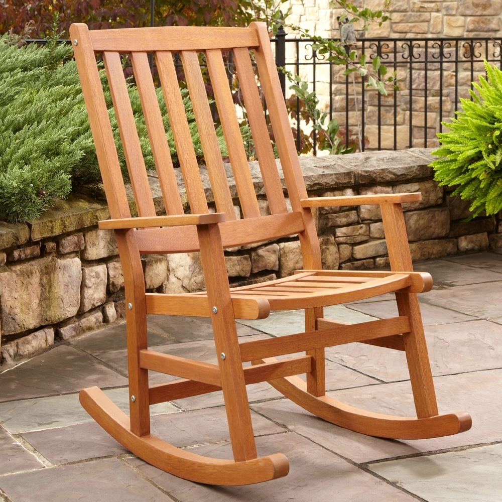 A Guide To Find The Right Outdoor Rocking Chair For Your House Pertaining To Preferred Rocking Chairs For Outdoors (View 11 of 15)