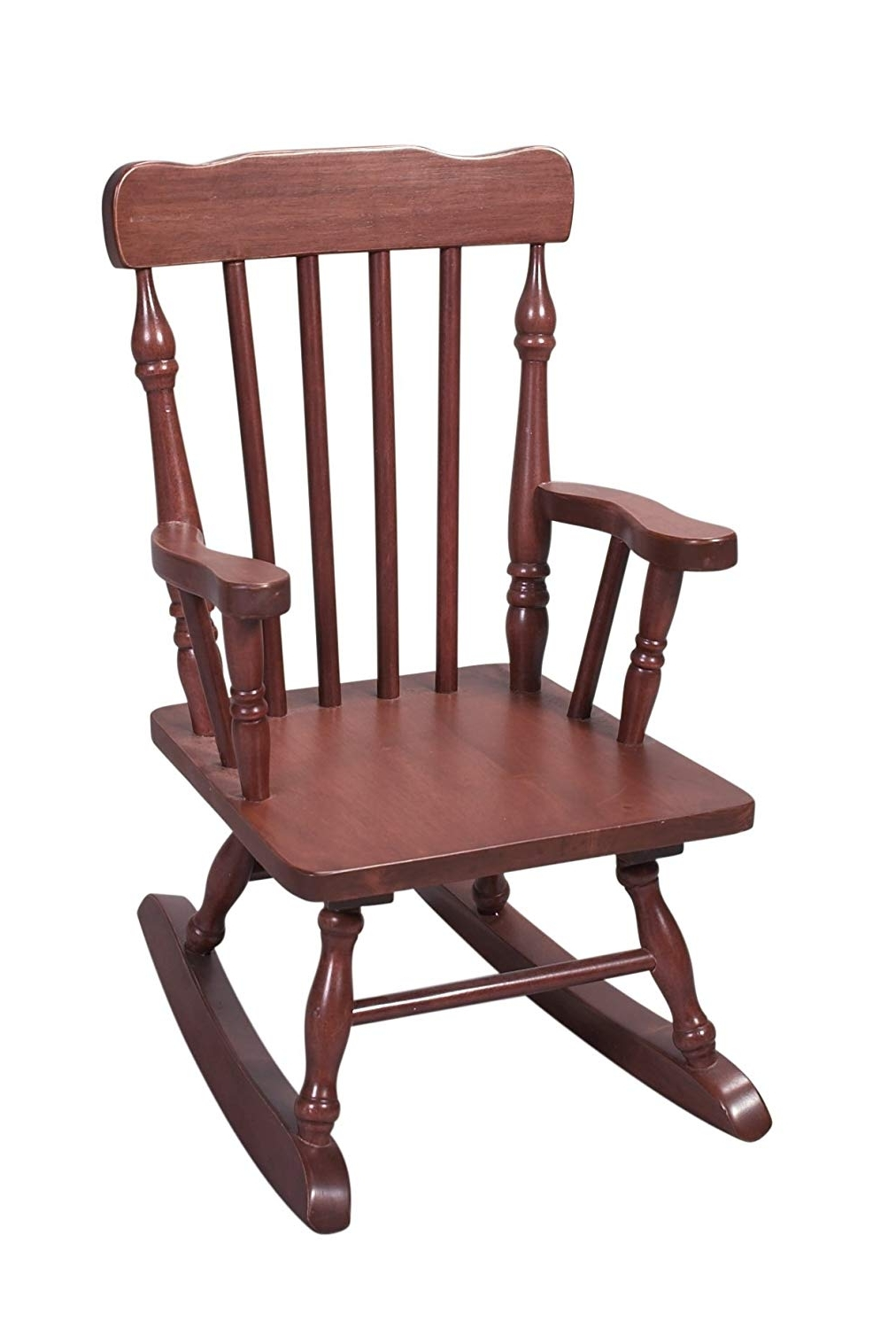 Amazon: Gift Mark Child's Colonial Rocking Chair, White: Kitchen For Most Current Amazon Rocking Chairs (View 8 of 15)