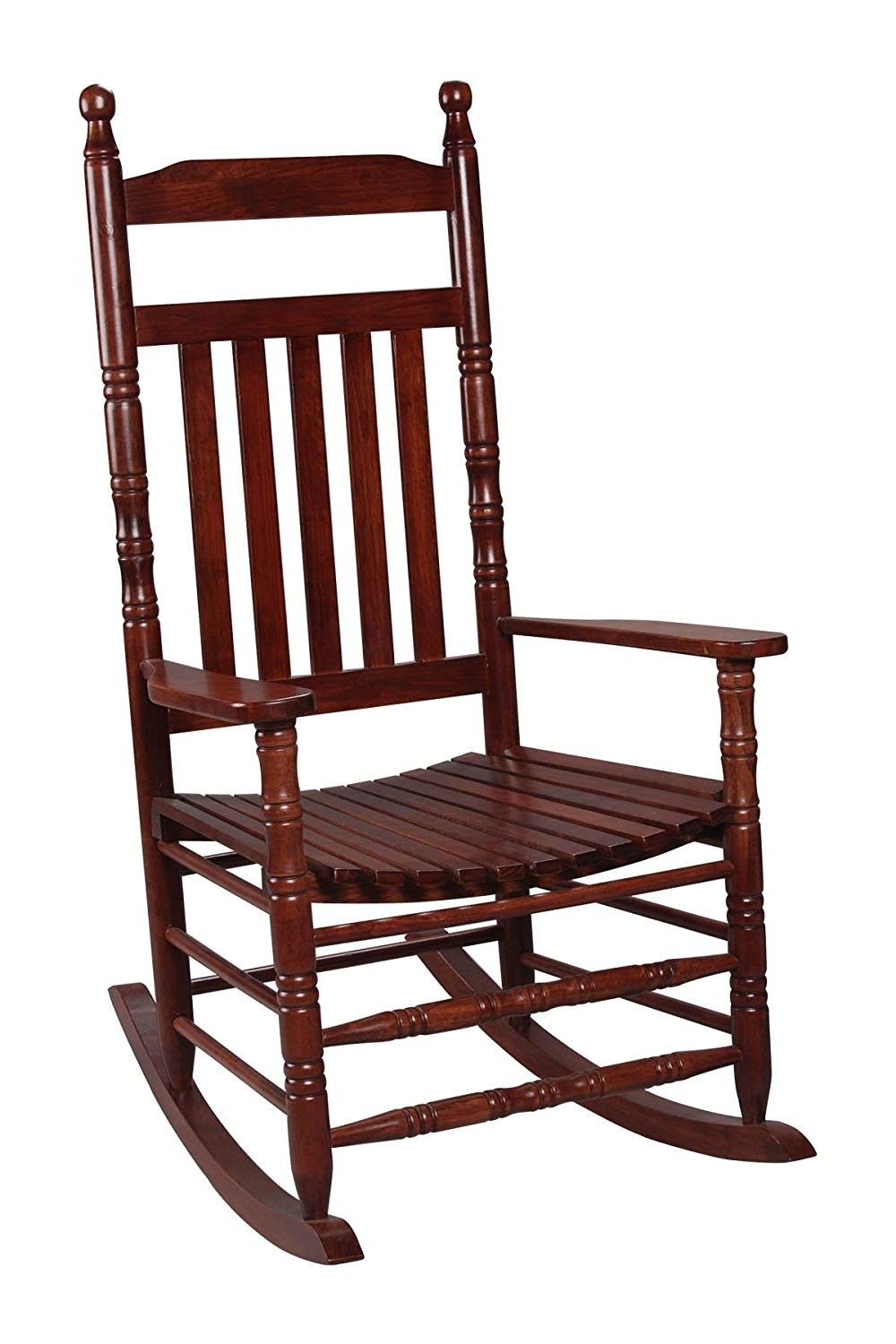 Amazon: Gift Mark Deluxe Adult Rocking Extra Tall Back Chair Pertaining To Popular Zen Rocking Chairs (View 9 of 15)