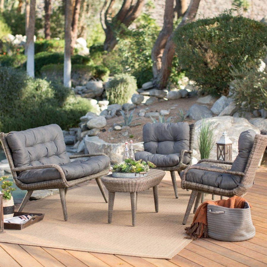 Amazon Patio Furniture Conversation Sets With Regard To Famous Nice Conversation Patio Furniture  (View 7 of 15)
