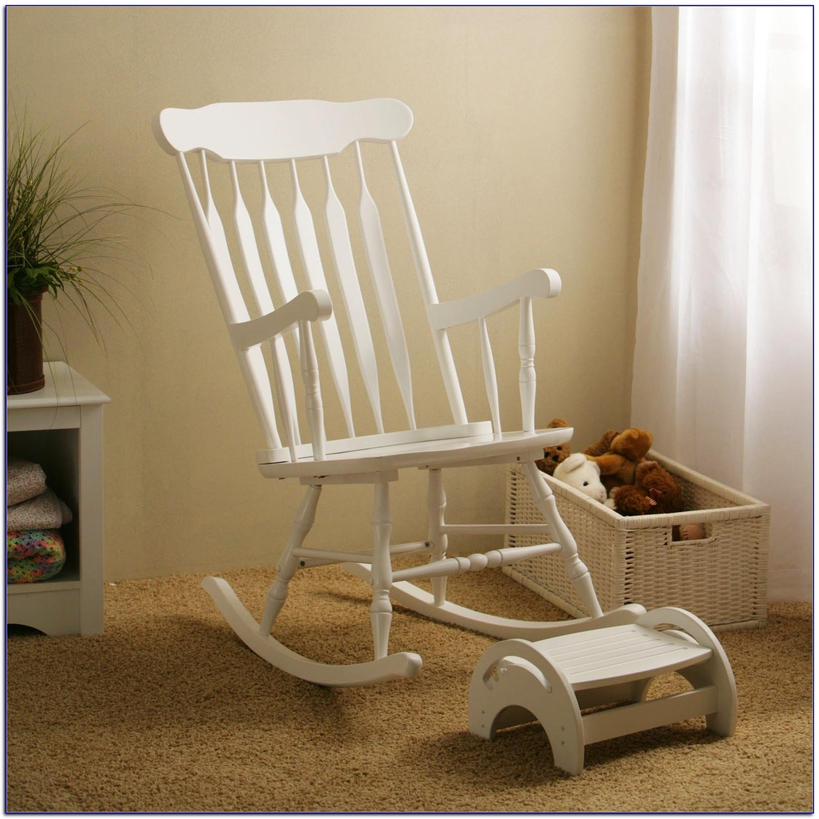 Amazon Rocking Chairs With Famous Navy And Gray Elephants Rocking Chair Pad (View 9 of 15)