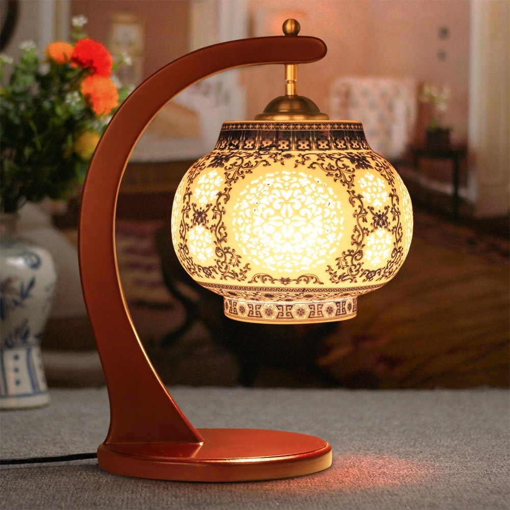 Antique Lamp Living Room Retro Table Lamp Study Table Lamp, Old For Most Popular Antique Living Room Table Lamps (View 1 of 15)