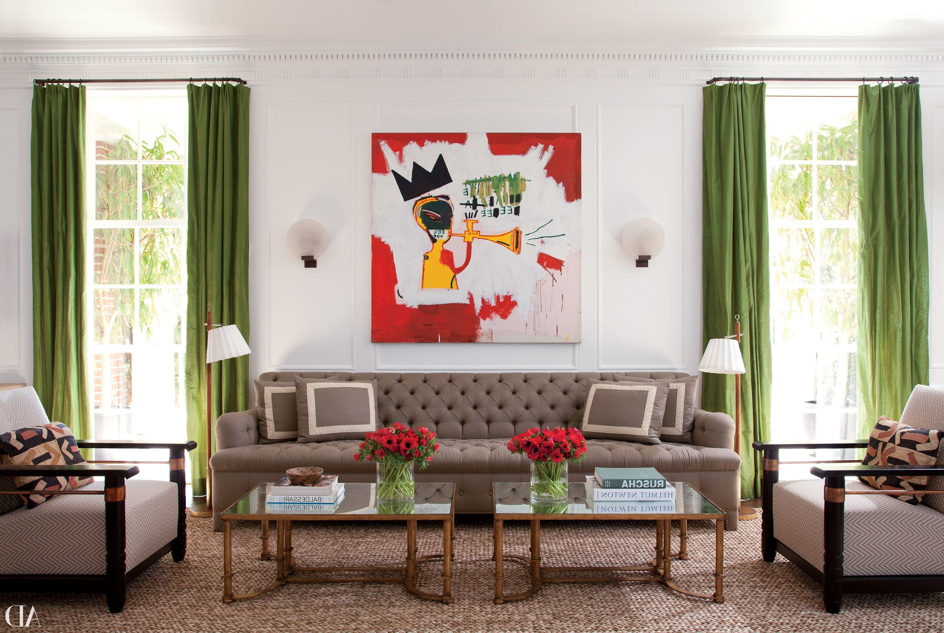 Architectural Digest With Regard To Recent Vintage Living Room Table Lamps (View 9 of 15)