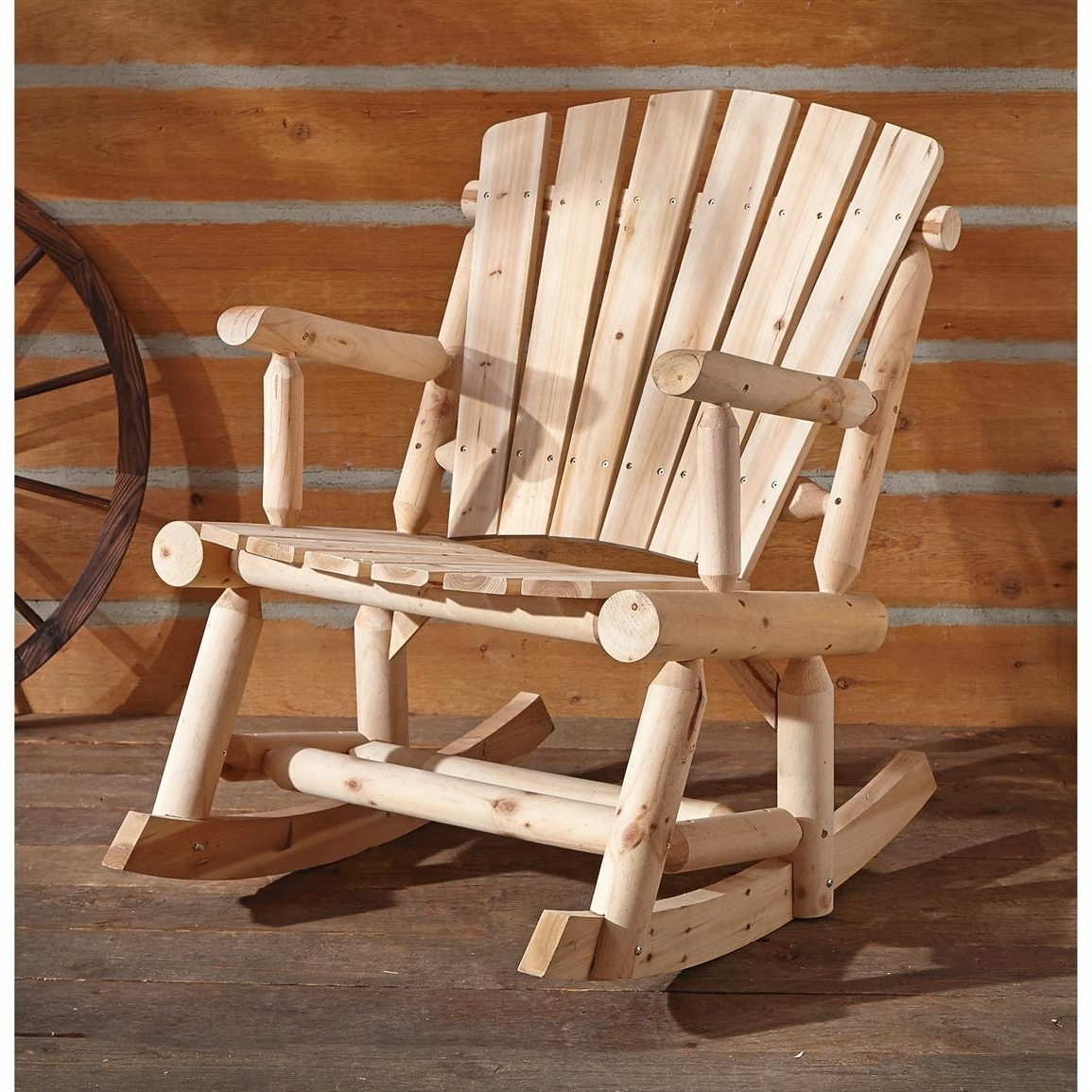 Best And Newest Castlecreek Oversized Adirondack Rocker – 657797, Patio Furniture At For Oversized Patio Rocking Chairs (View 2 of 15)