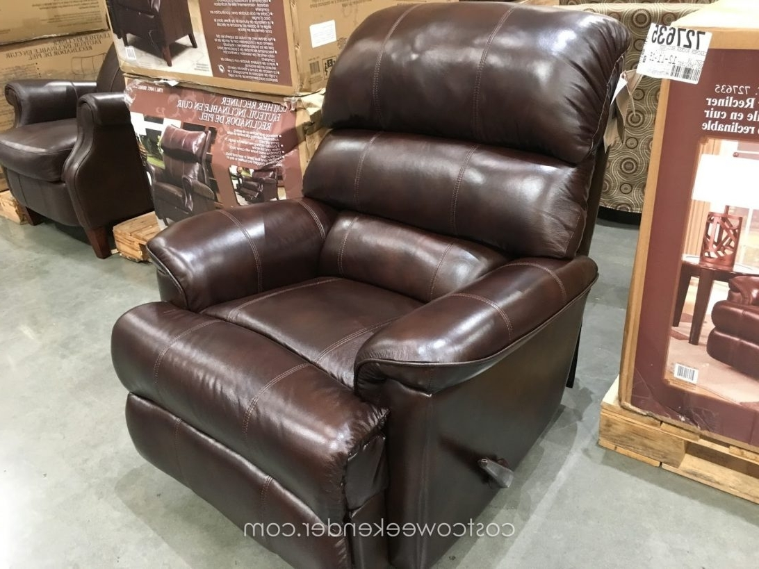 Best And Newest Innovative Recliner Chairs Costco Leather Gaming Chair With Faux With Rocking Chairs At Costco (View 7 of 15)