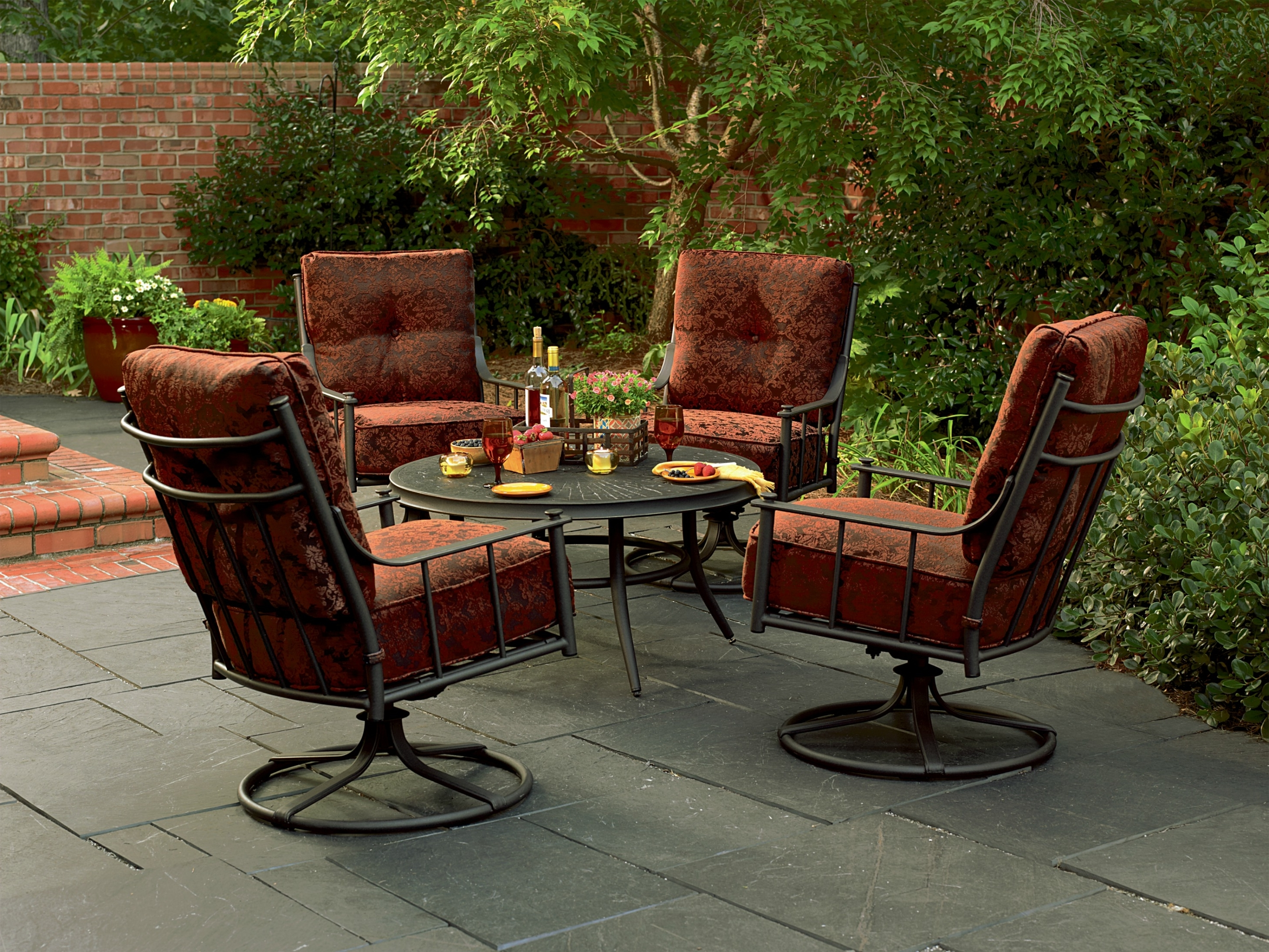 Best And Newest Patio Conversation Sets At Sears With Patio Table: Sears Patio Furniture Sets Lovely Sears Patio Table And (View 1 of 15)
