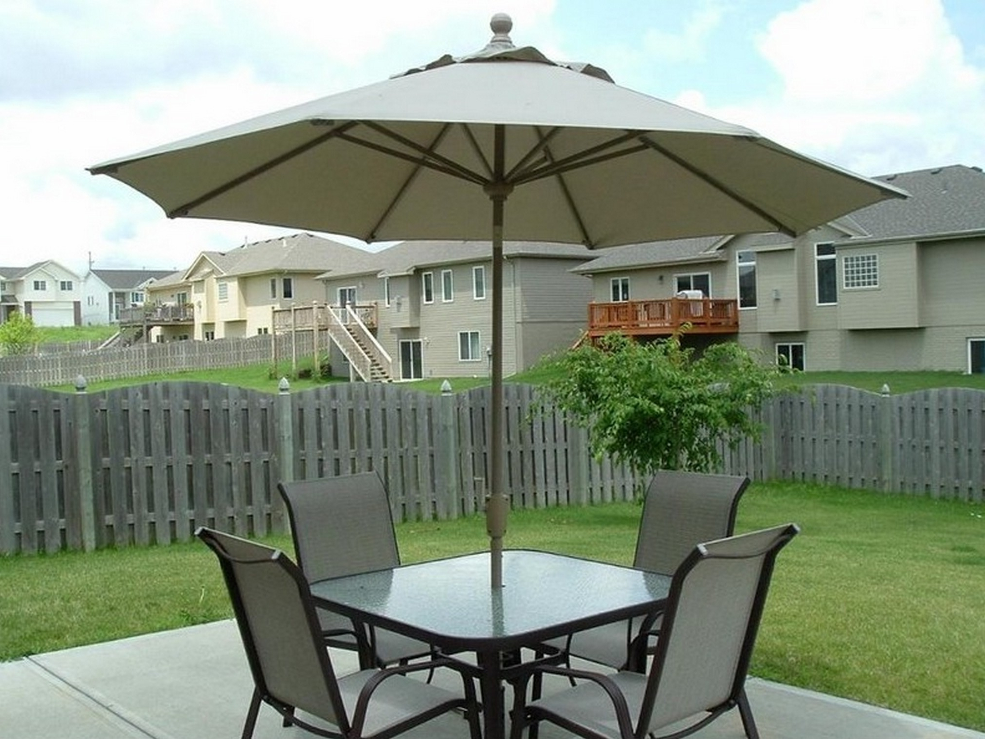 Best And Newest Patios: Fantastic Home Depot Patio Umbrellas For Wondrous Patio With Regard To Patio Conversation Sets With Umbrella (View 12 of 15)