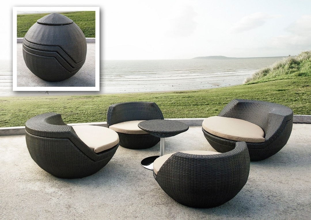 Best And Newest Perfect Garden With Modern Garden Furniture – Carehomedecor Throughout Modern Patio Conversation Sets (View 1 of 15)