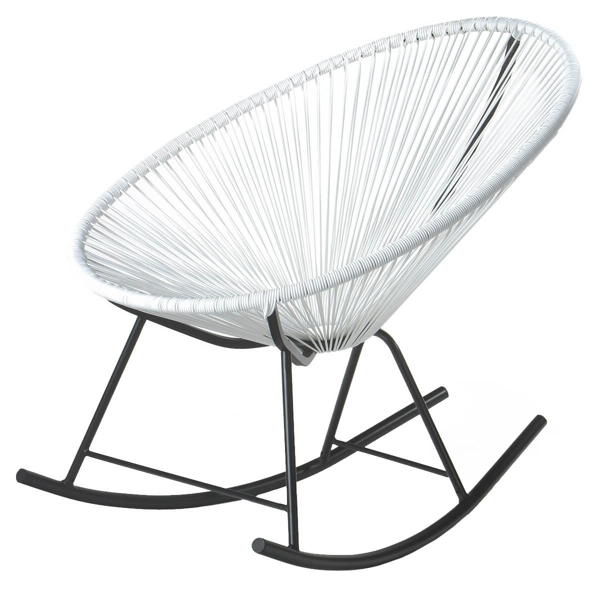 Best And Newest Retro Rocking Chairs For Charles Bentley Retro Rocking Chair – Buydirect4U (View 3 of 15)