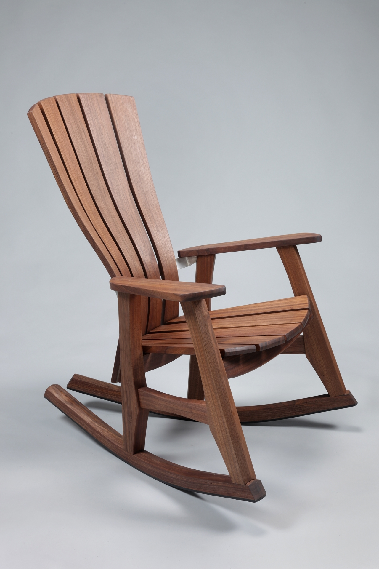 Best And Newest Rocking Chair Outdoor Wooden Inside Outdoor Wooden Rocking Chairs Back : Pleasure Outdoor Wooden Rocking (View 3 of 15)