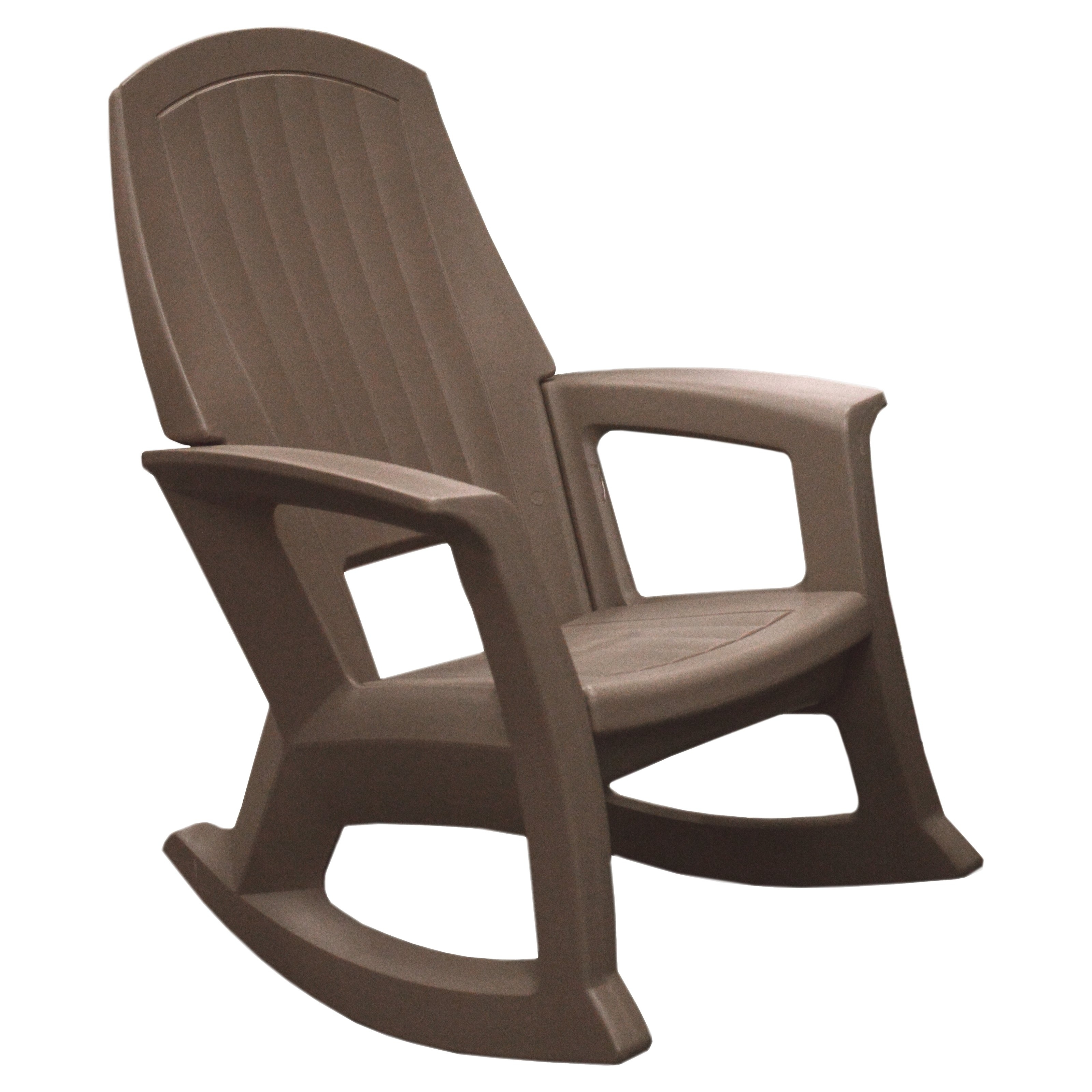 Best And Newest Semco Outdoor Patio Resin Rocking Chair – Outdoor Designs With White Resin Patio Rocking Chairs (View 1 of 15)