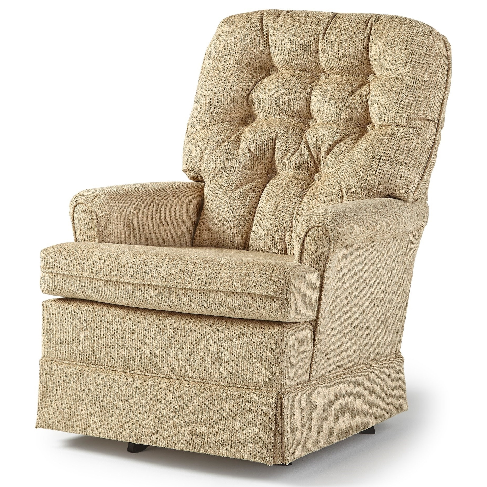 Best Home Furnishings Swivel Glide Chairs Joplin Swivel Rocker Chair Intended For Most Up To Date Swivel Rocking Chairs (View 2 of 15)